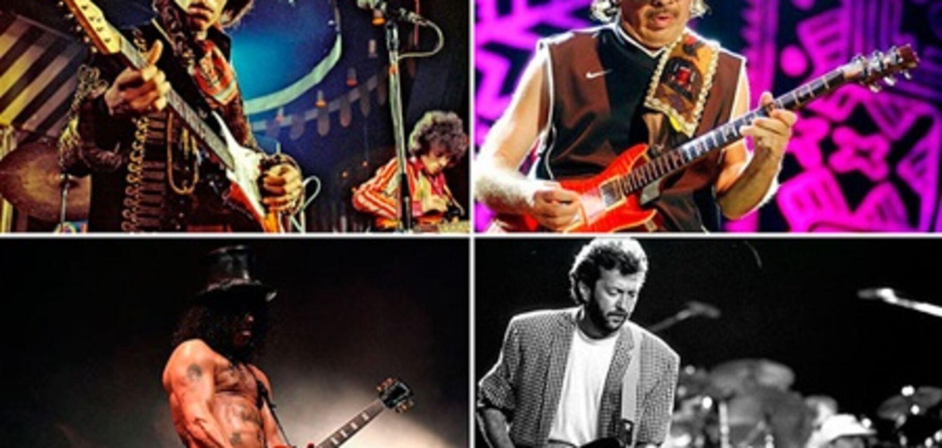 Их признали лучшими гитаристами в истории музыки