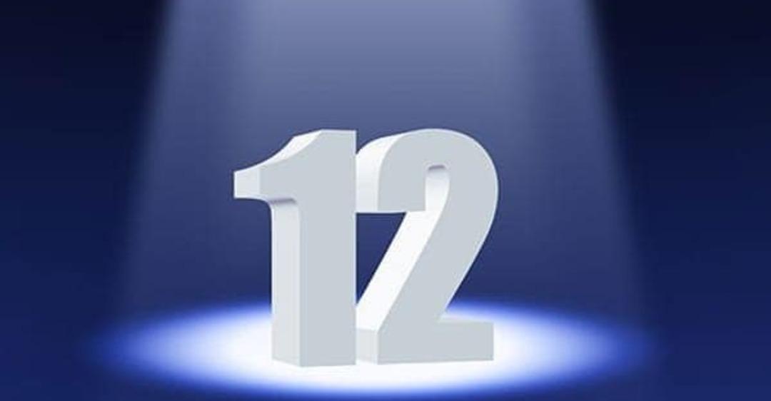 Днем, открытки с цифрой 12
