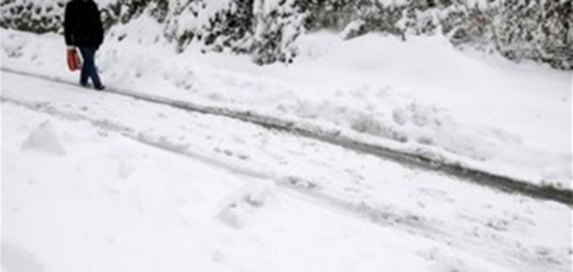 Через снігопади на Балканах загинули шестеро людей