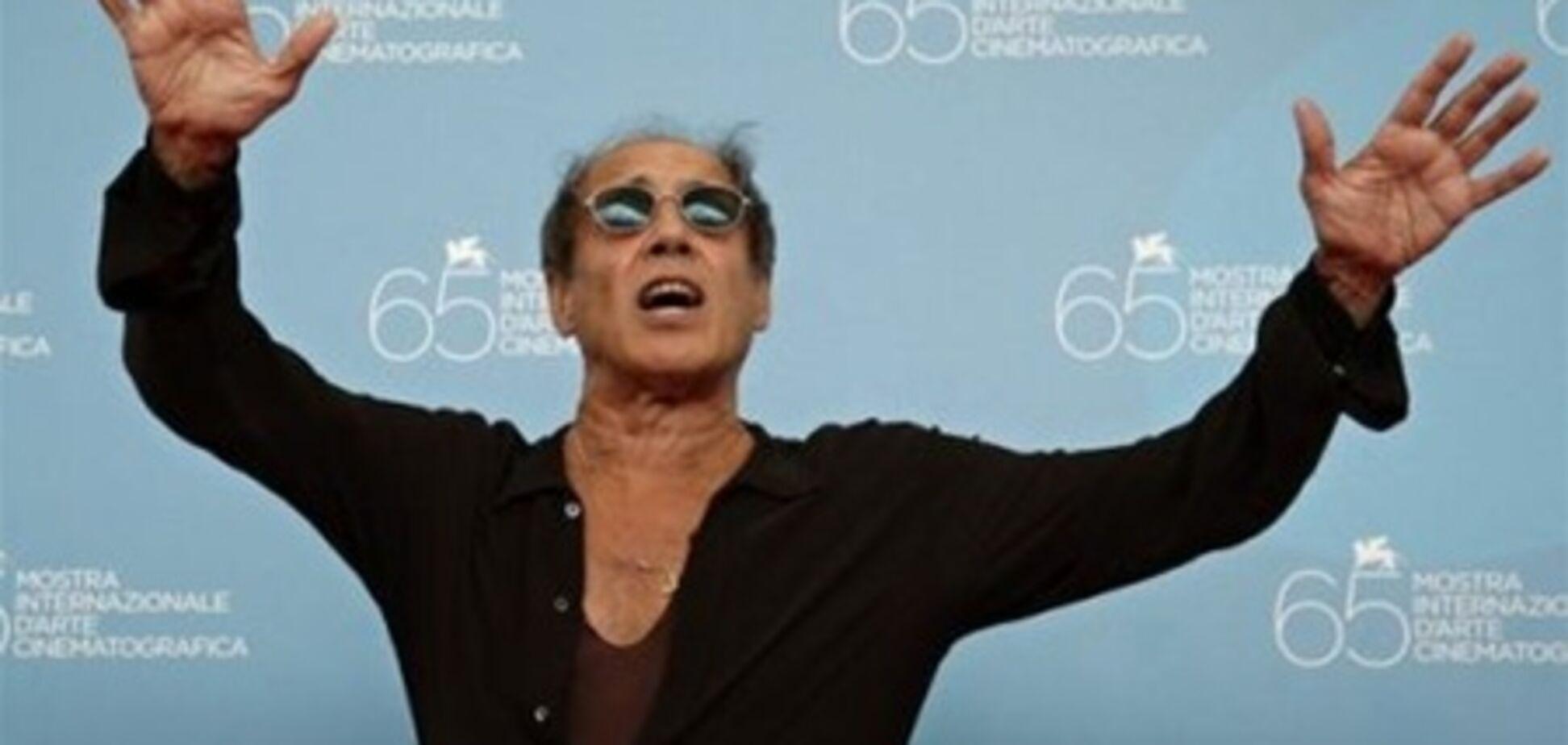 Челентано открыл фестиваль Сан-Ремо