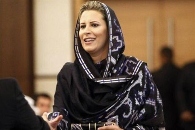Дочь муаммара каддафи айша