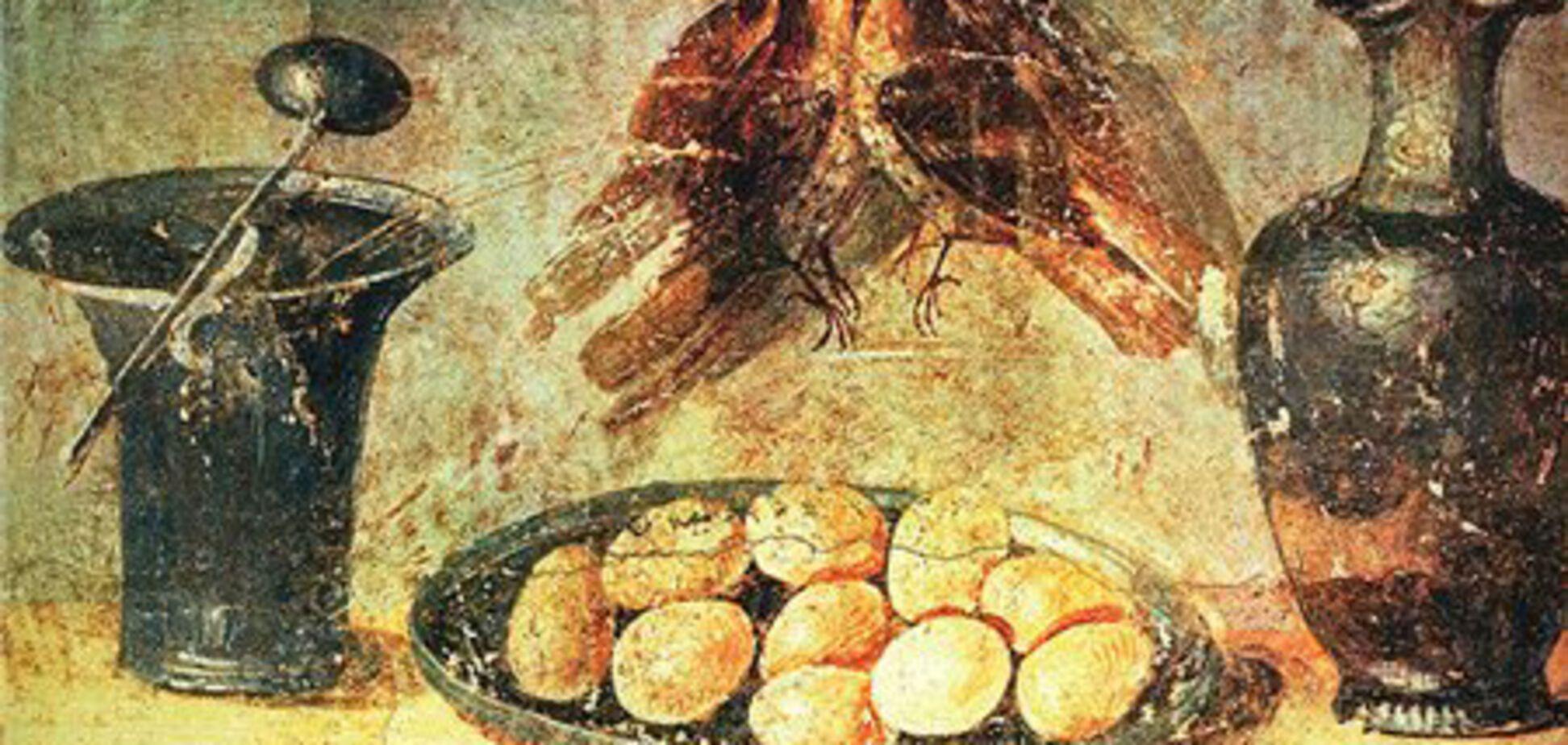 Обед в стиле Древнего Рима