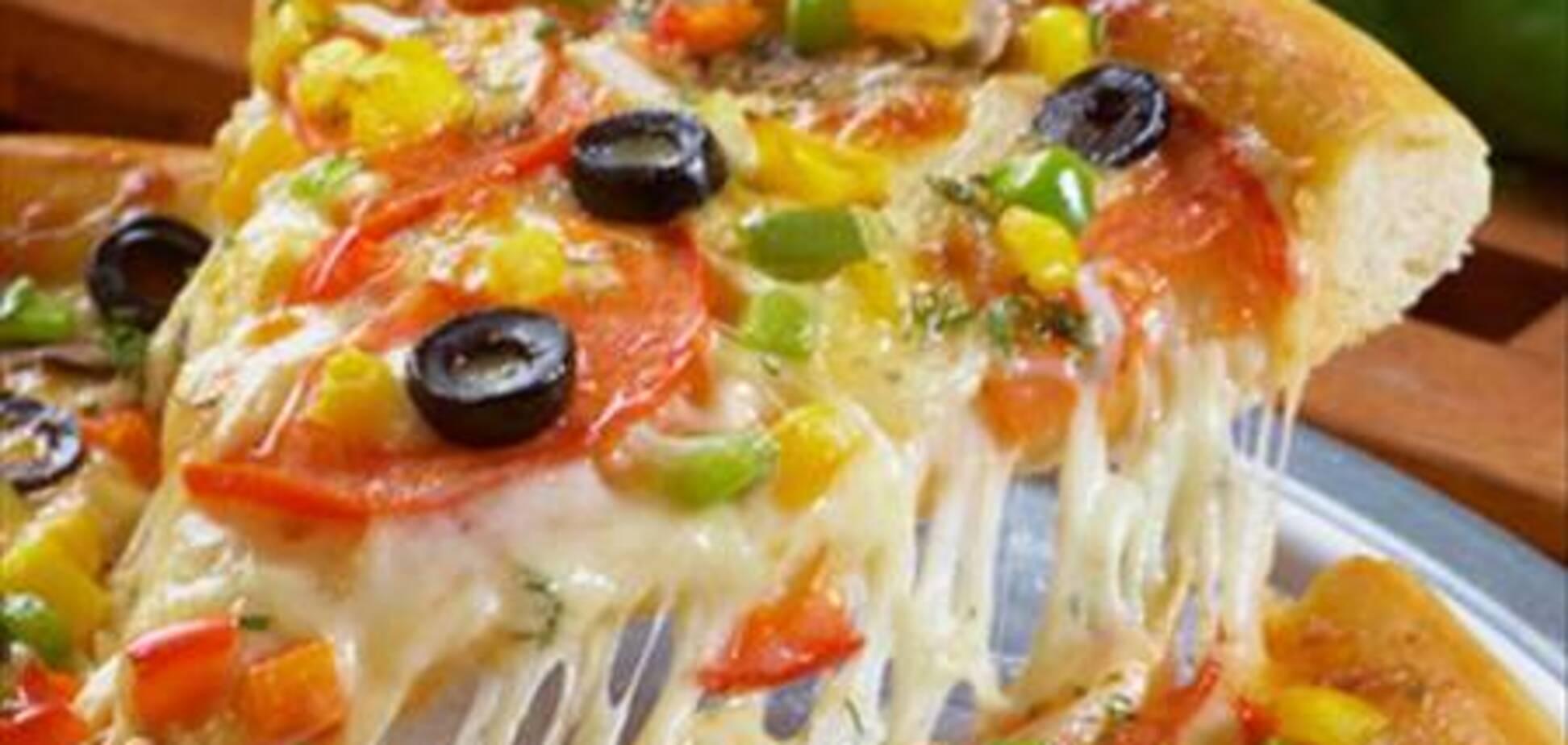 Англичанка всю жизнь ест только пиццу