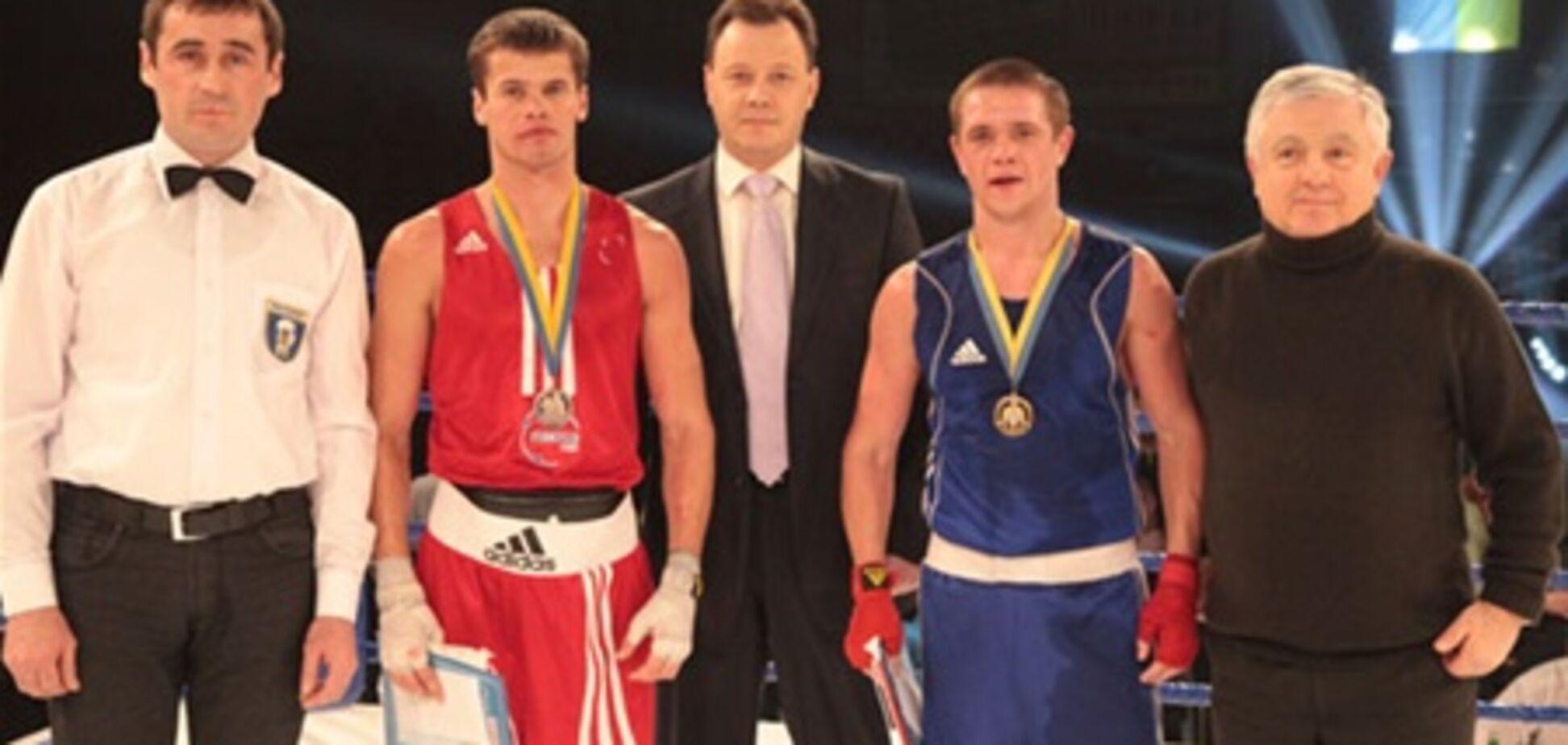 Состоялся финал турнира сильнейших боксеров Украины