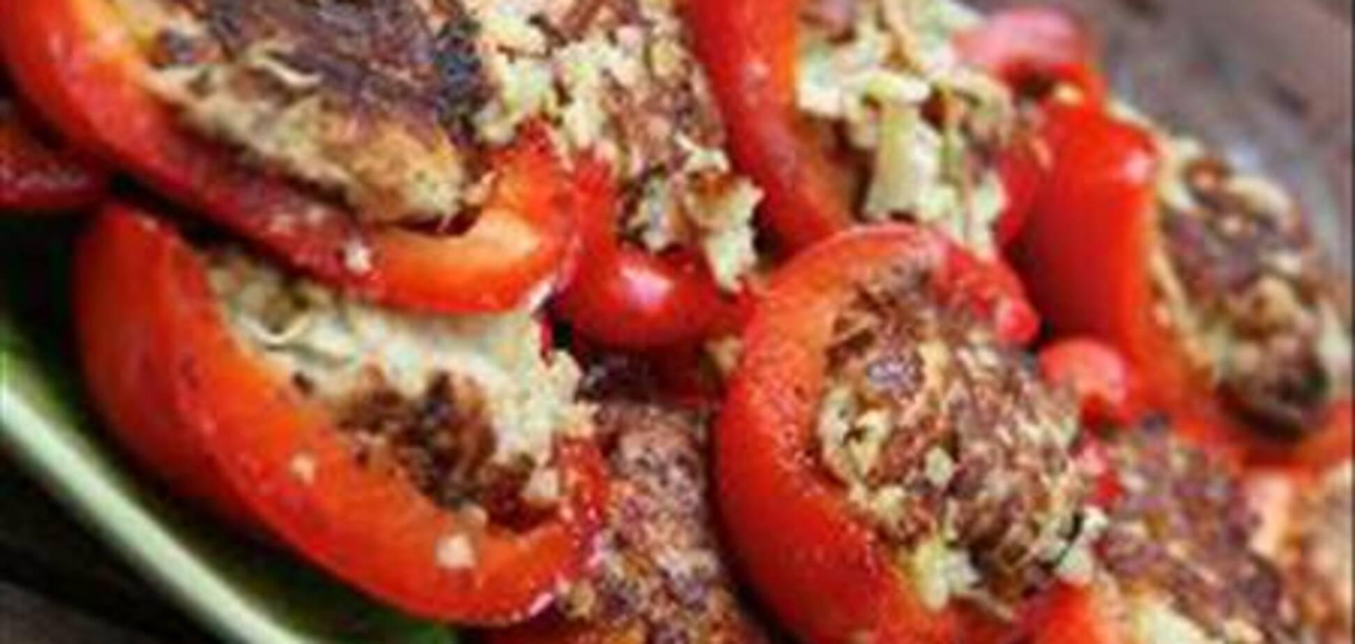 Перцы, фаршированные картошкой