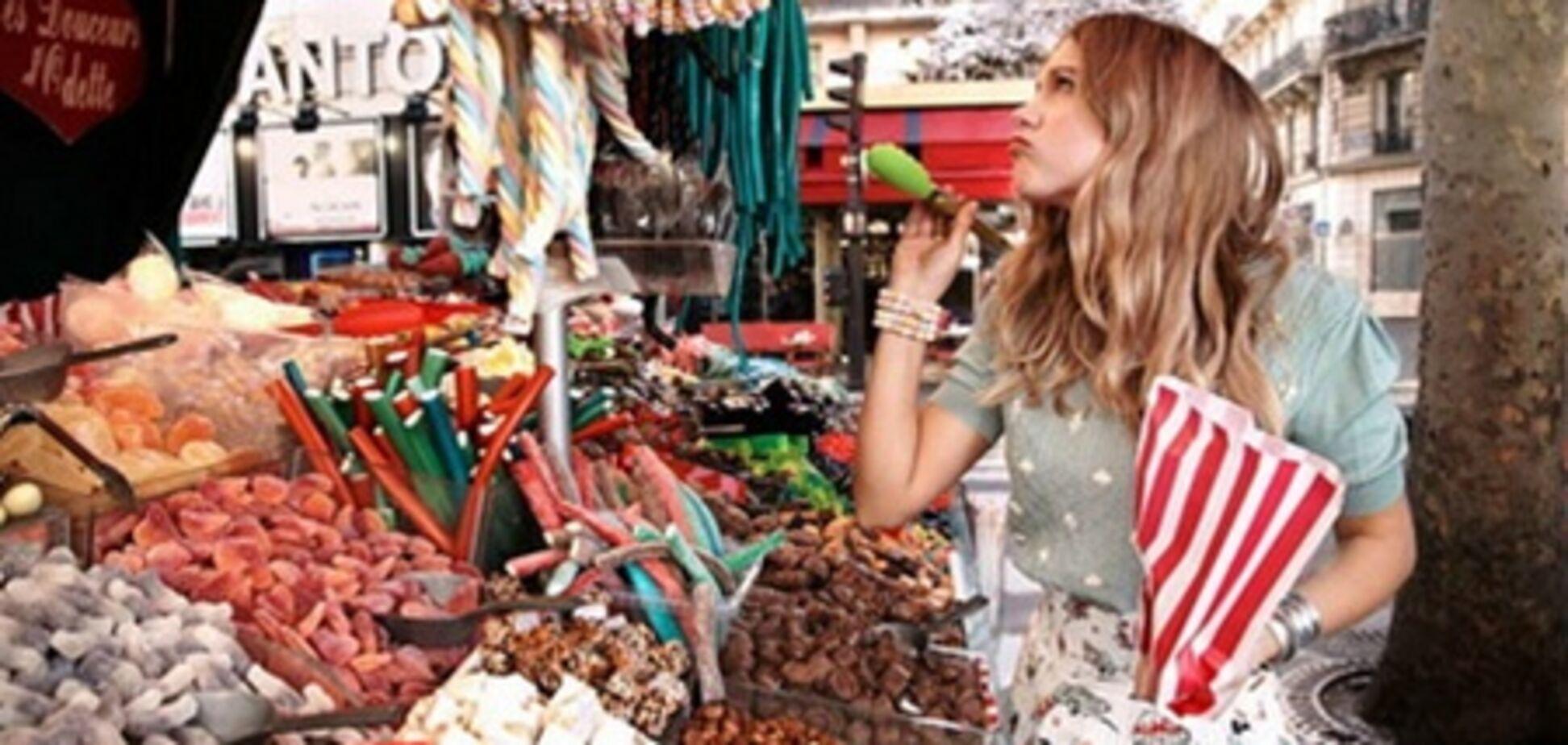 Французская «очаровашка» и сладости