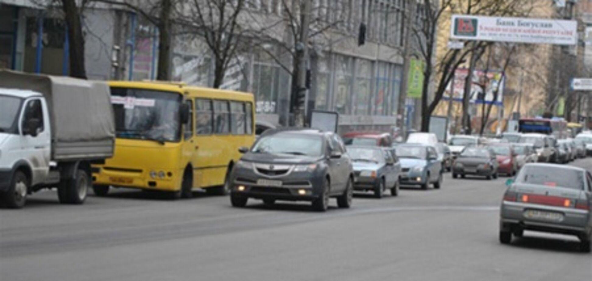 Как создать транспортный коллапс в Киеве?