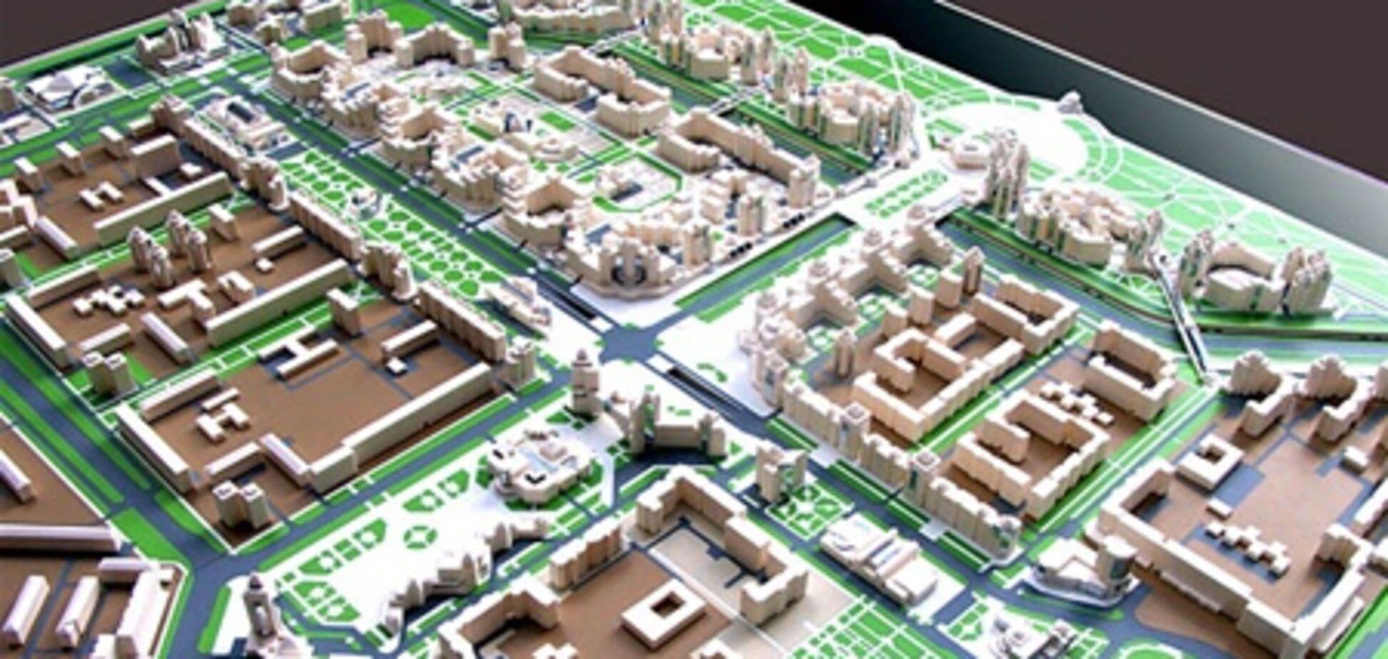 В Киеве строится новый микрорайон
