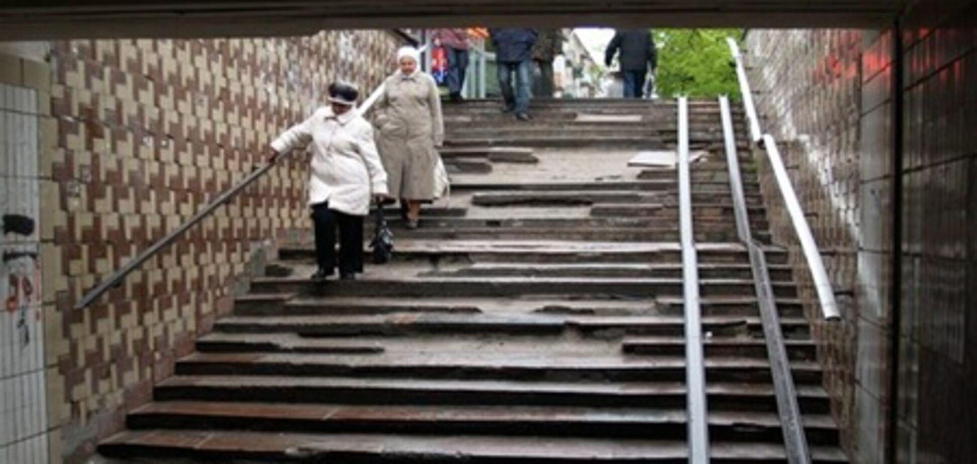 В Киеве продадут все подземные переходы