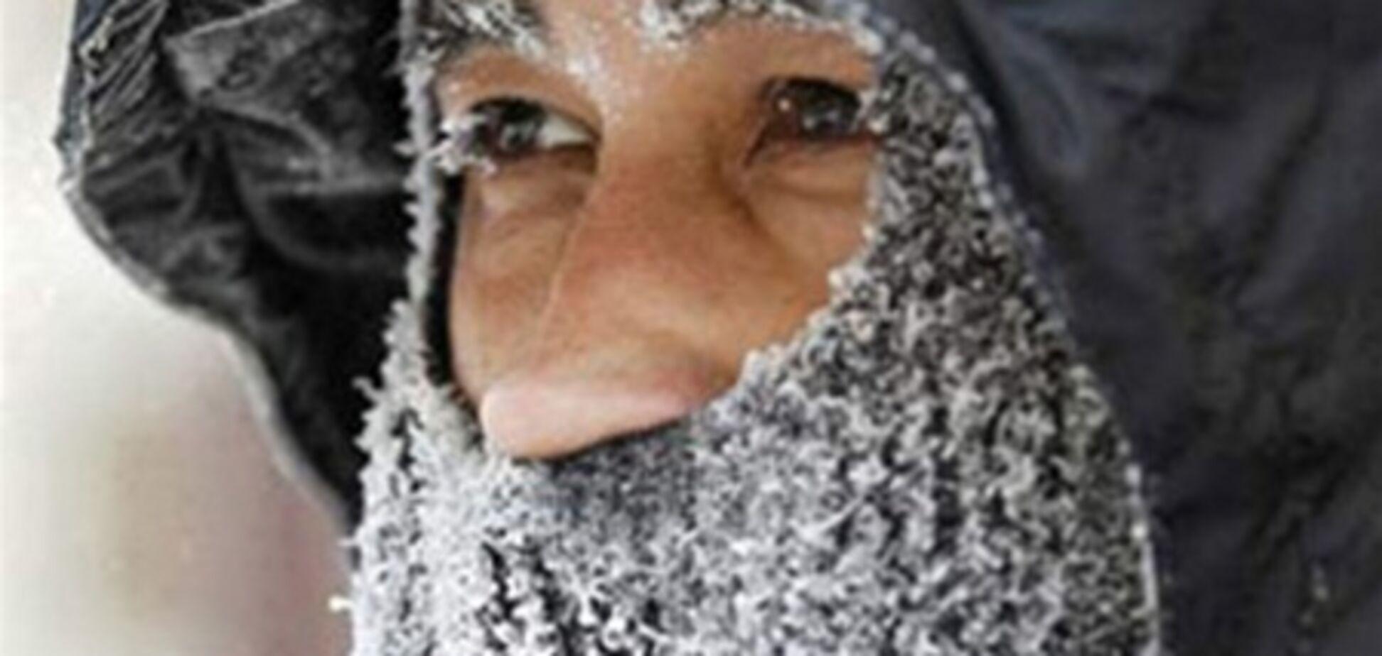 В Киеве от морозов умерли пять человек