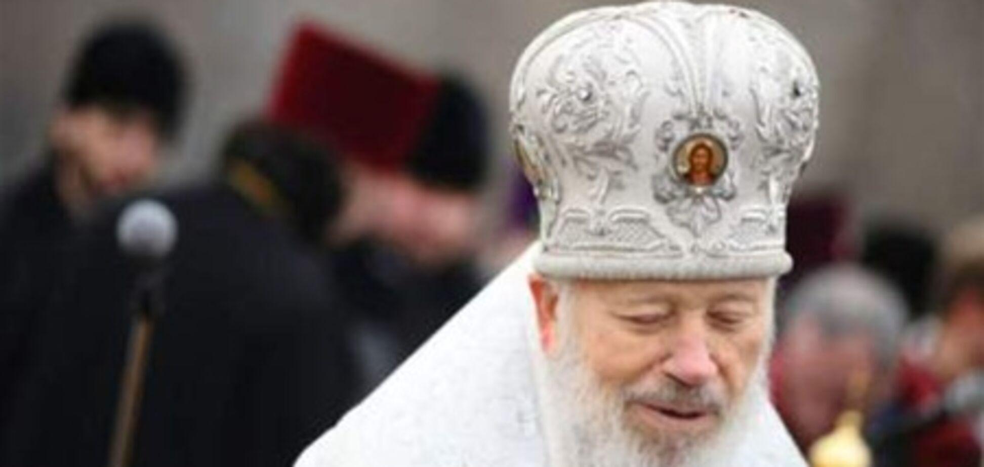 Митрополит Владимир признал раскол в церкви