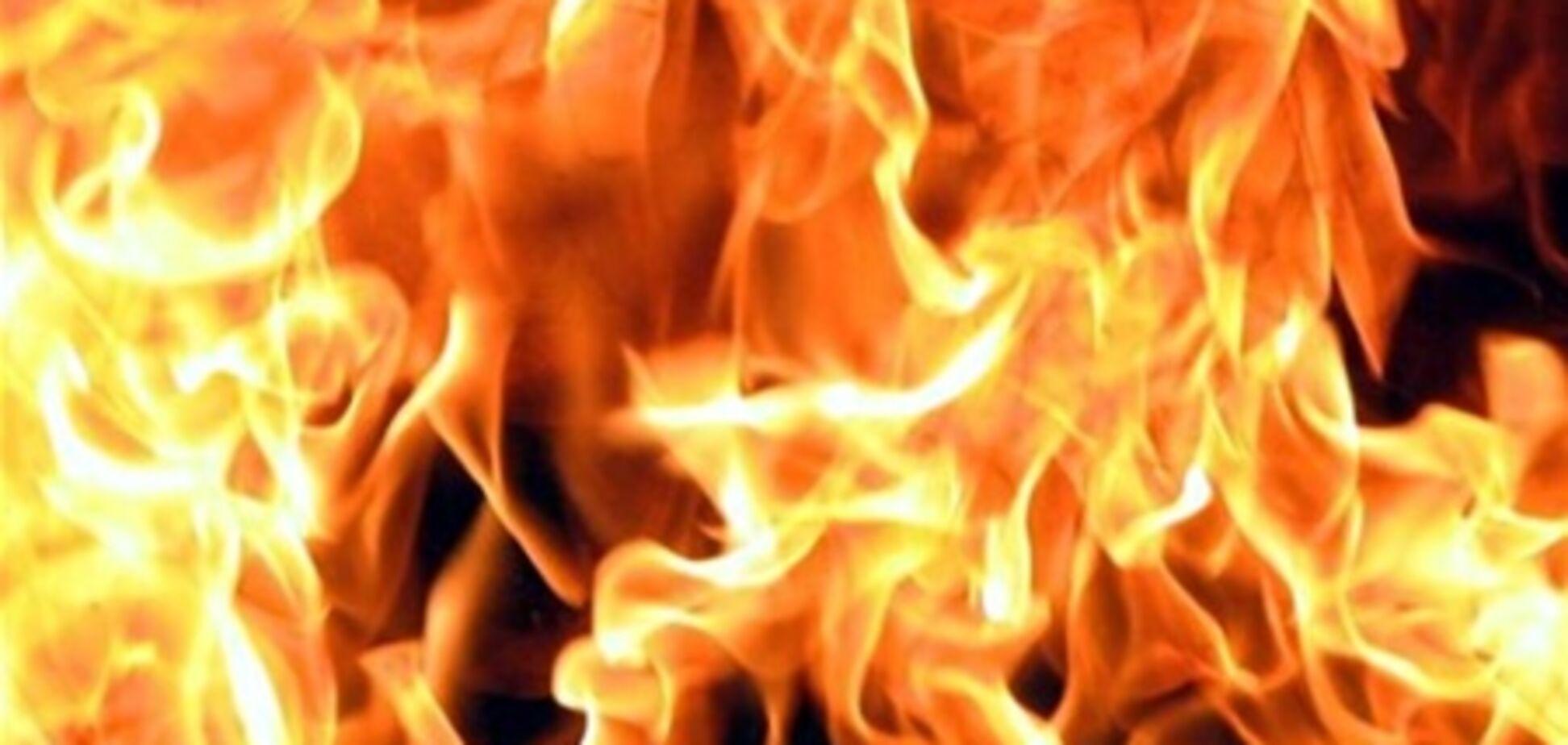 При пожаре под Киевом один человек погиб, пятеро пострадали