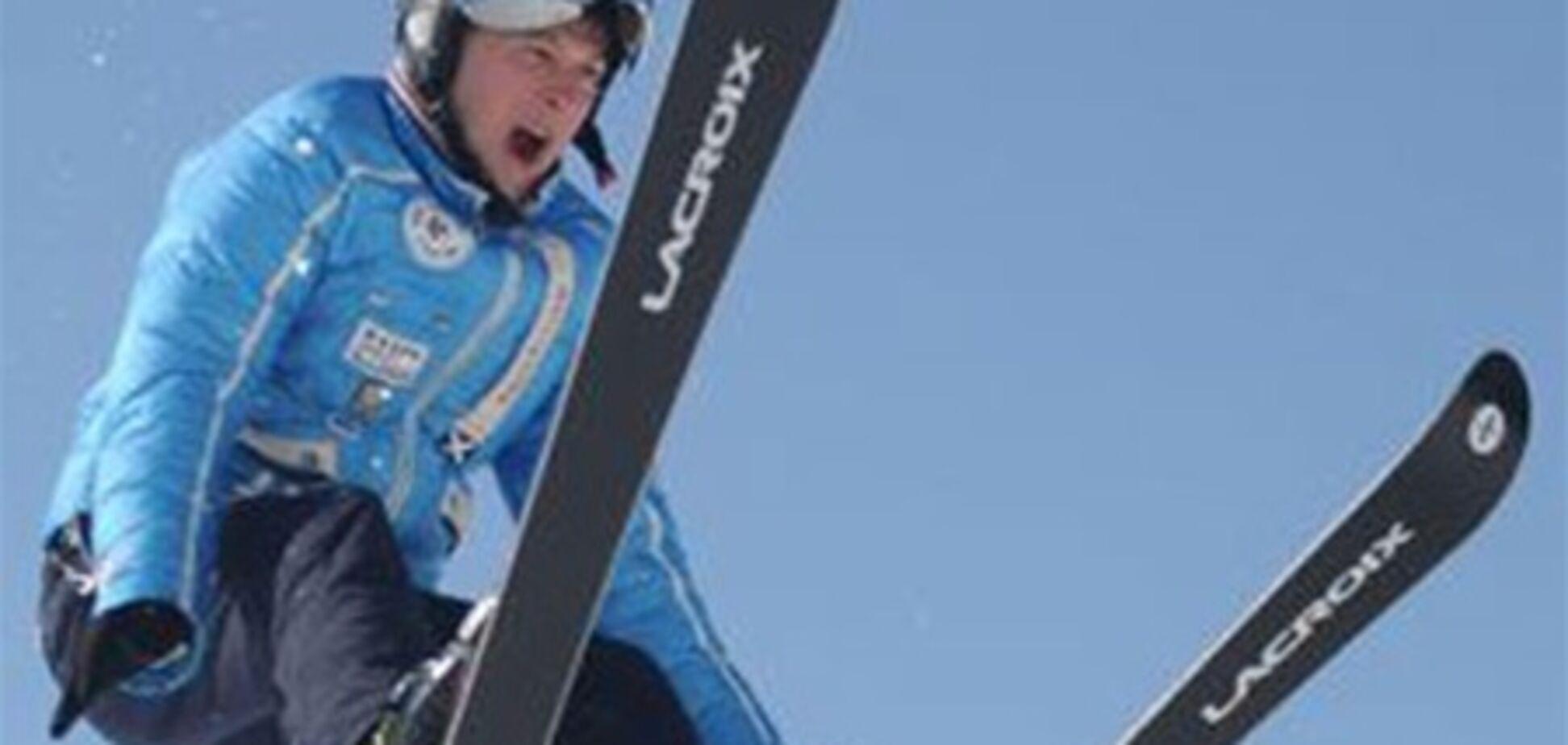 Хомутиннік катається на лижах за 1090 євро