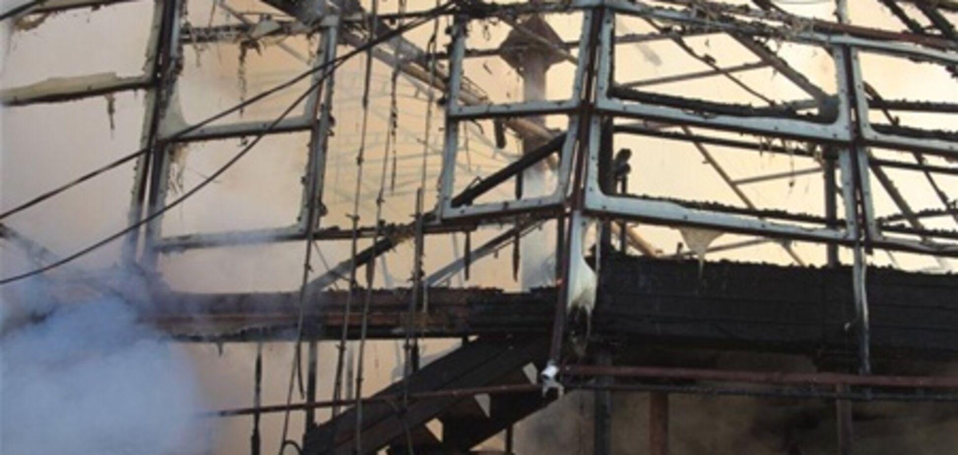 В Одессе опять горит ресторан
