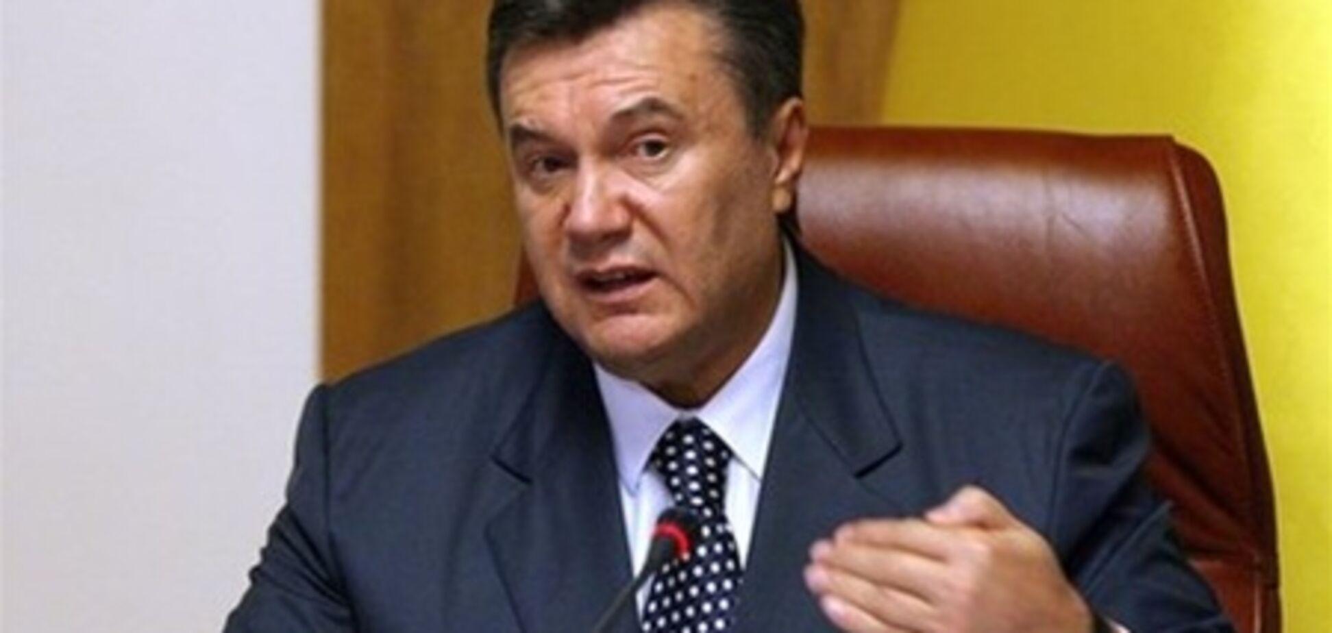 Янукович: Максиму Дмитренко нужно компенсировать убытки