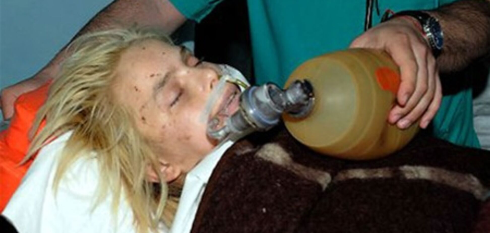 Оксане Макар угрожает сепсис - медики