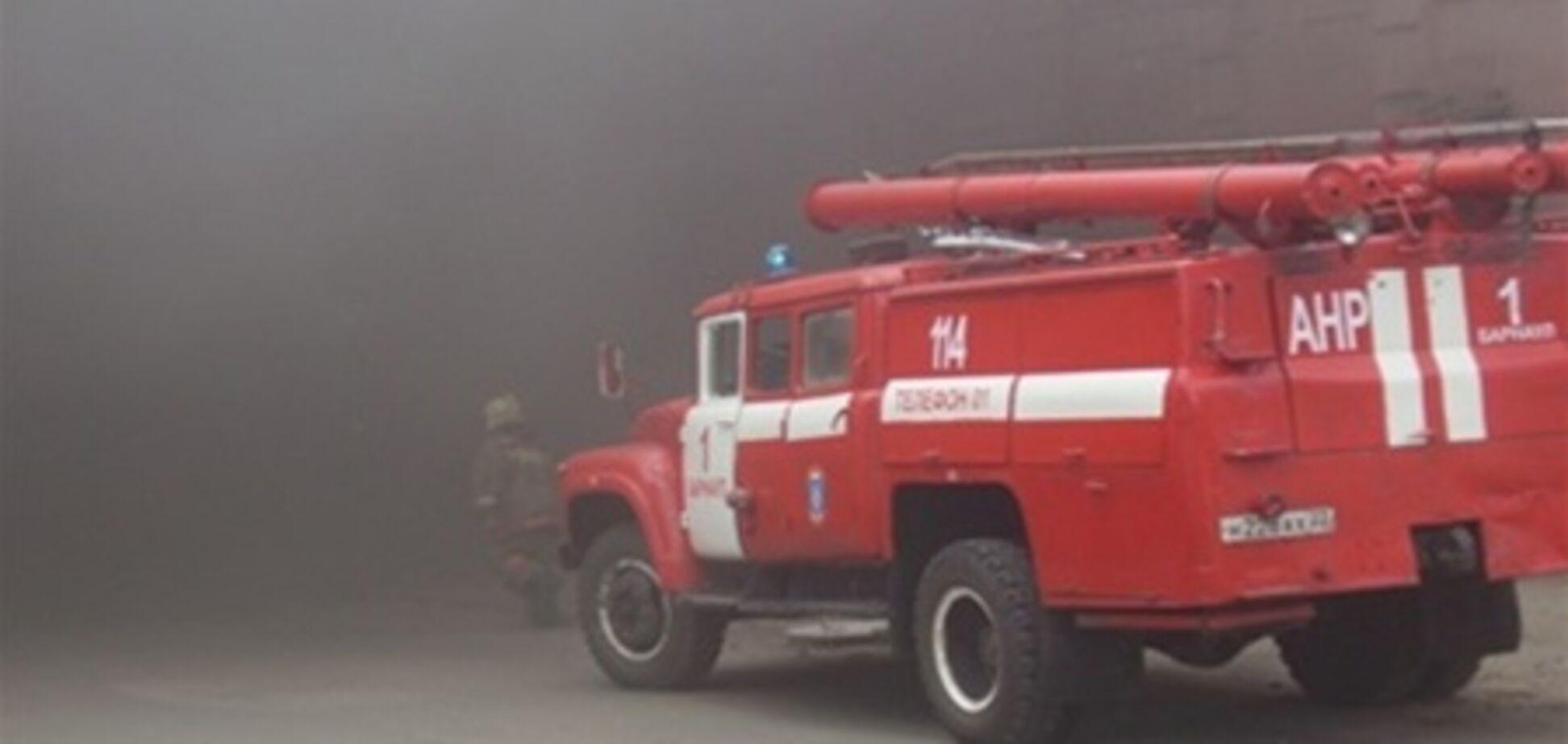 У палаючій на Львівщині колонії вогонь перекинувся на камери