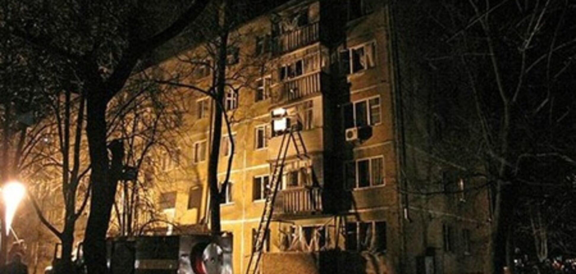 Взрыв в пятиэтажке Чернигова устроил самоубийца?