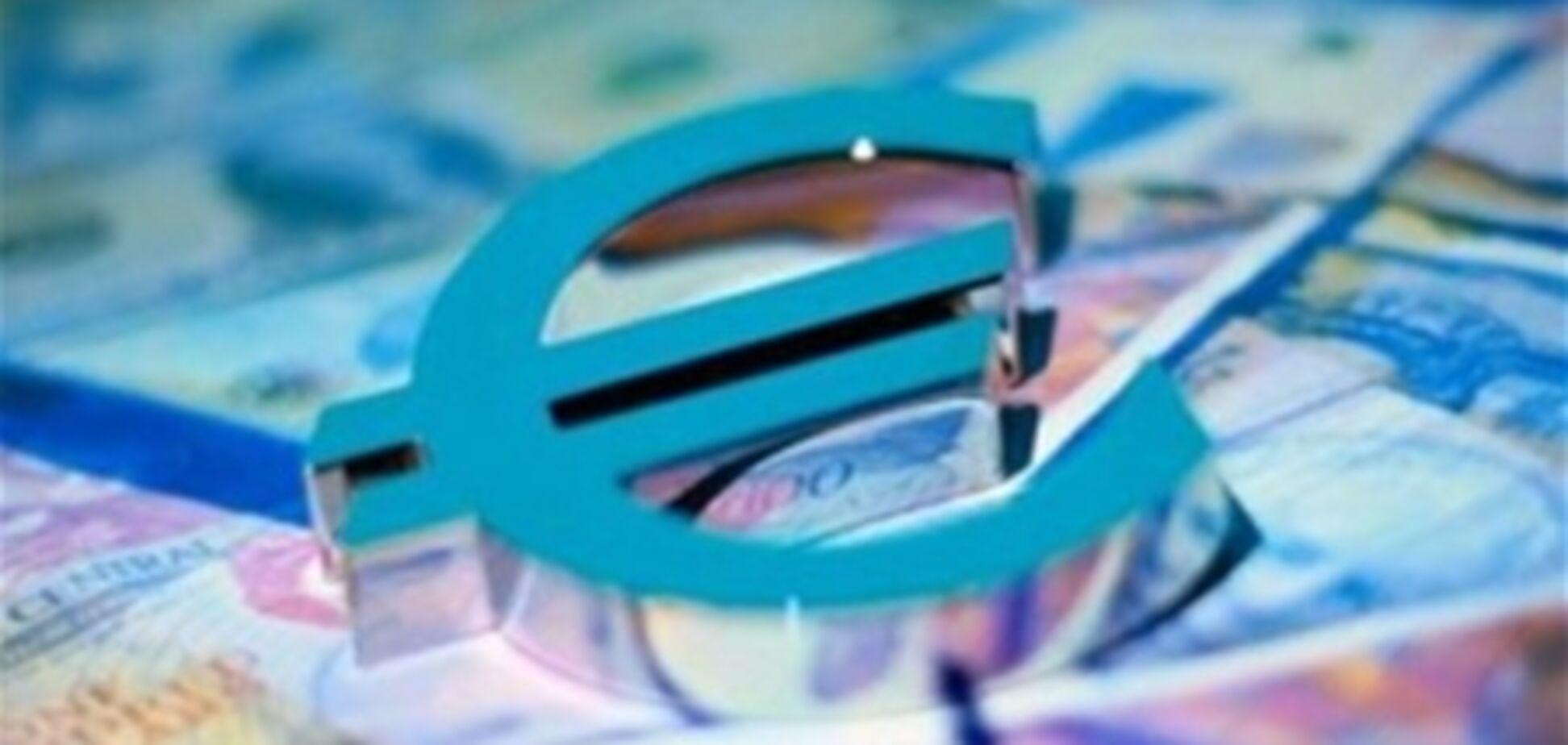 Евро в Украине подешевел, 28 марта 2012