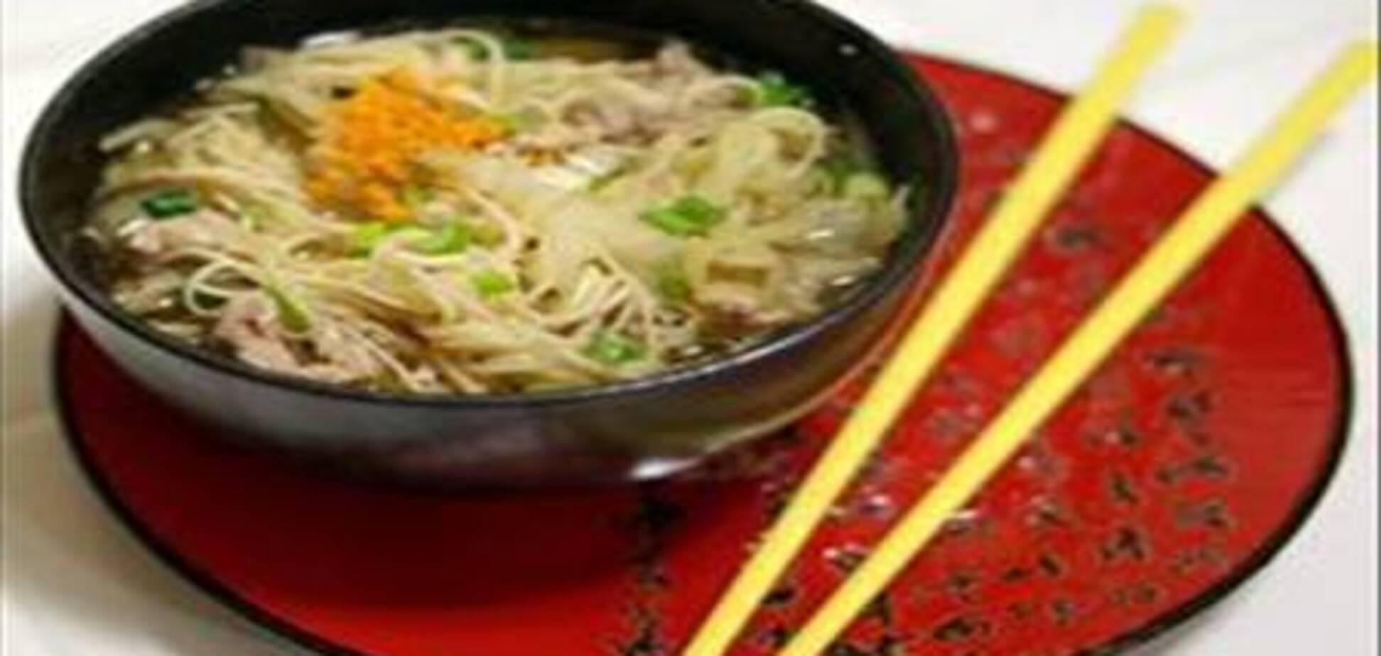 Быстрый китайский суп
