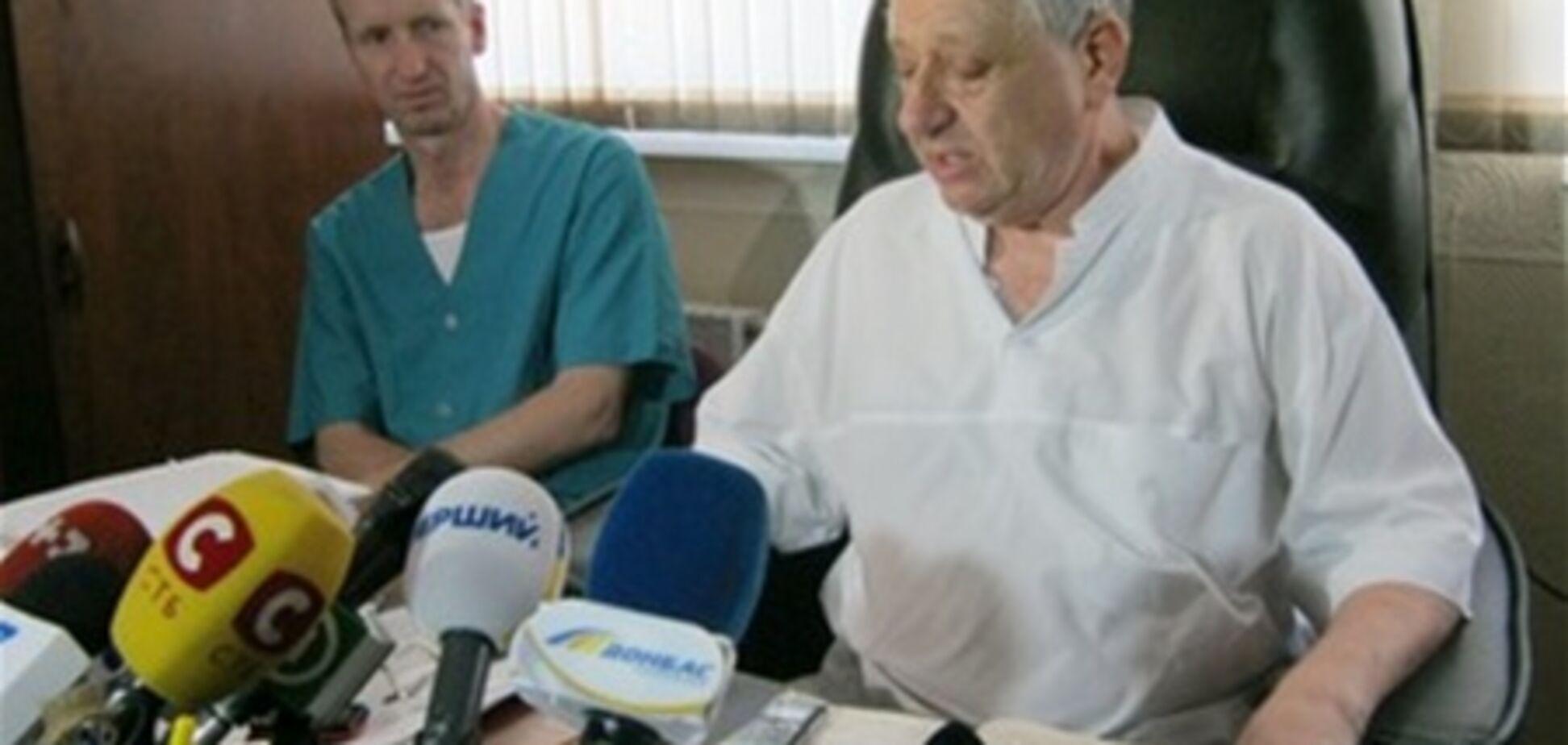 Оксана Макар уверенно идет на поправку - доктор