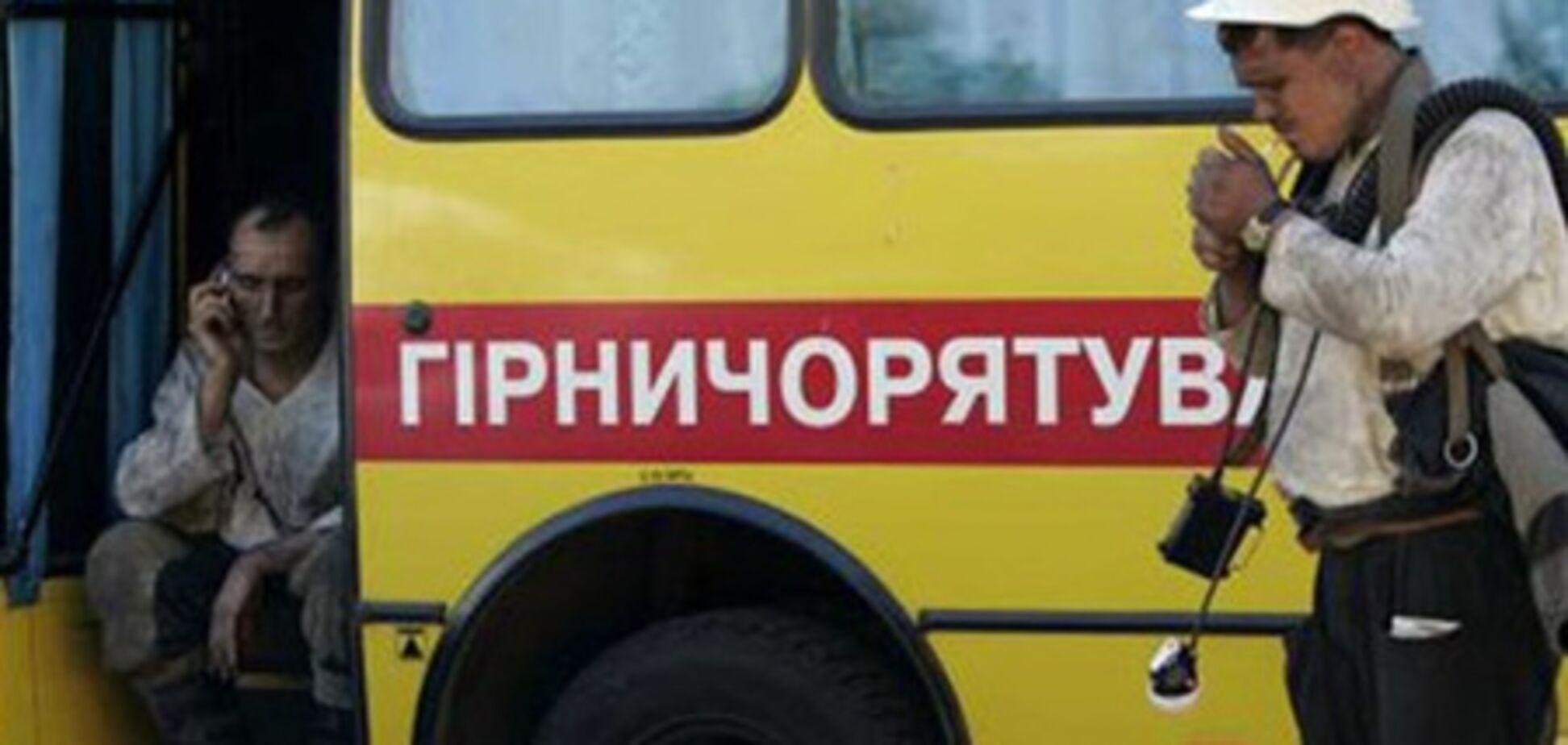 На Луганщине произошел пожар на шахте