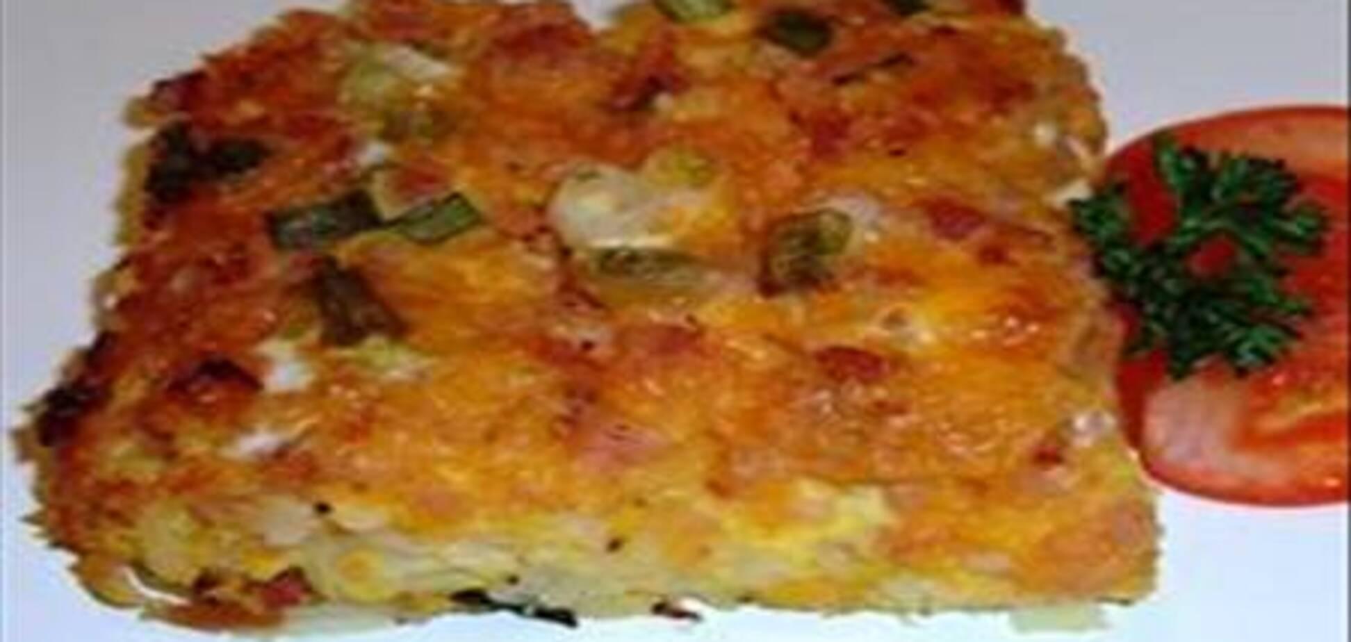 Картофельная запеканка с беконом, 30 марта 2012
