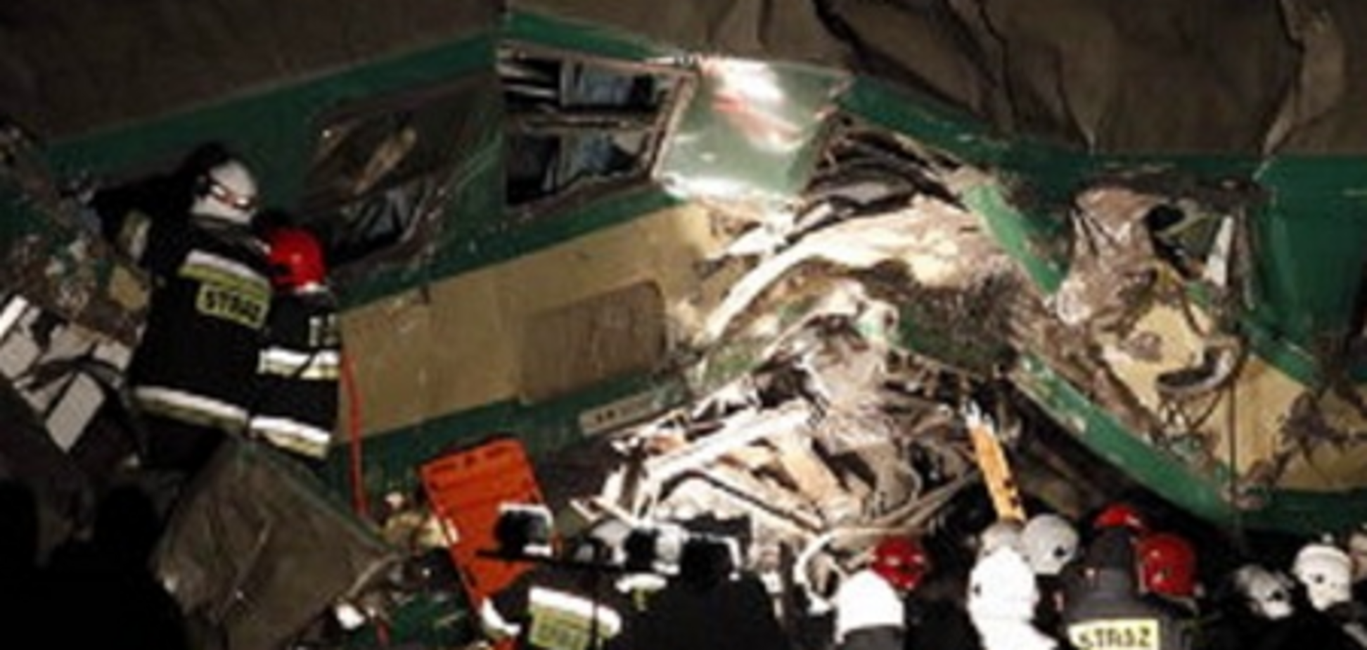При столкновении поездов в Польше пострадали пять украинцев