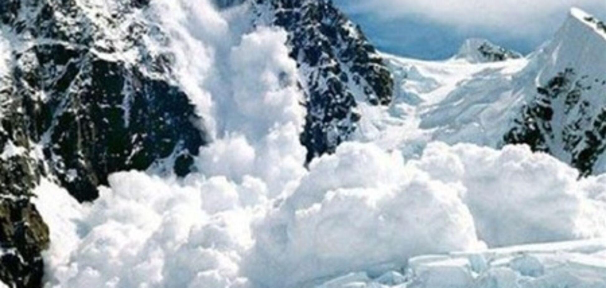 В горах Крыма есть опасность схождения лавин