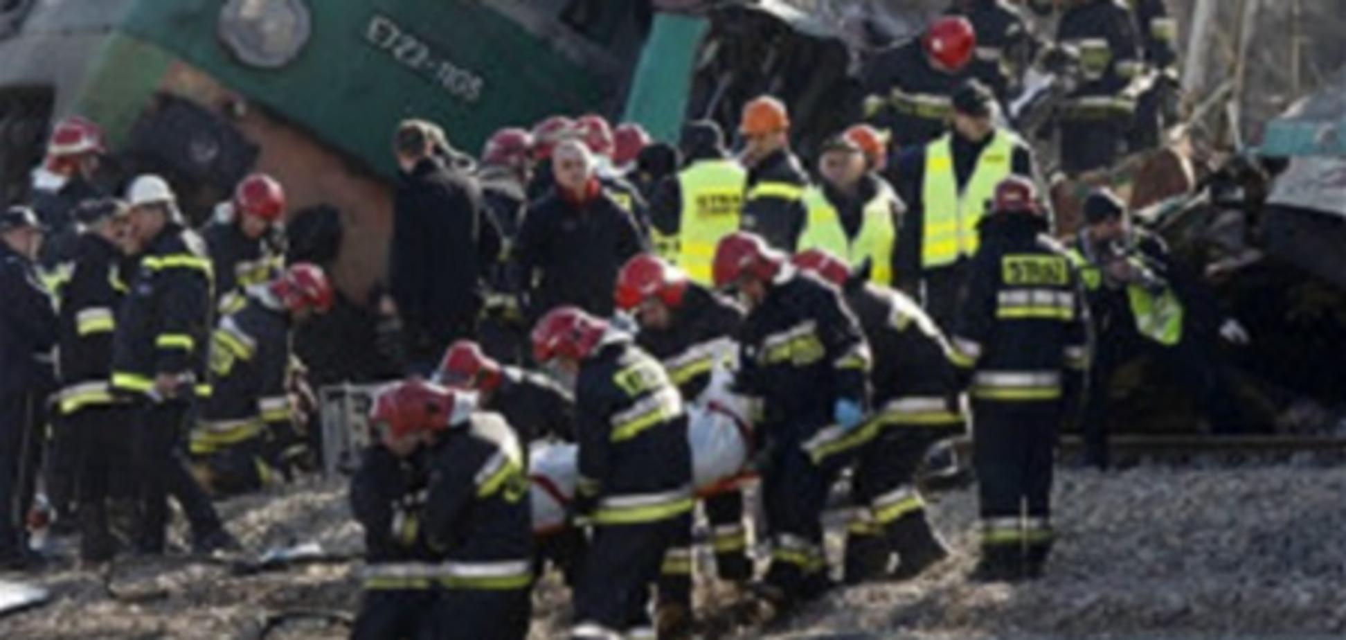 Число жертв ж/д катастрофы в Польше достигло 16 человек