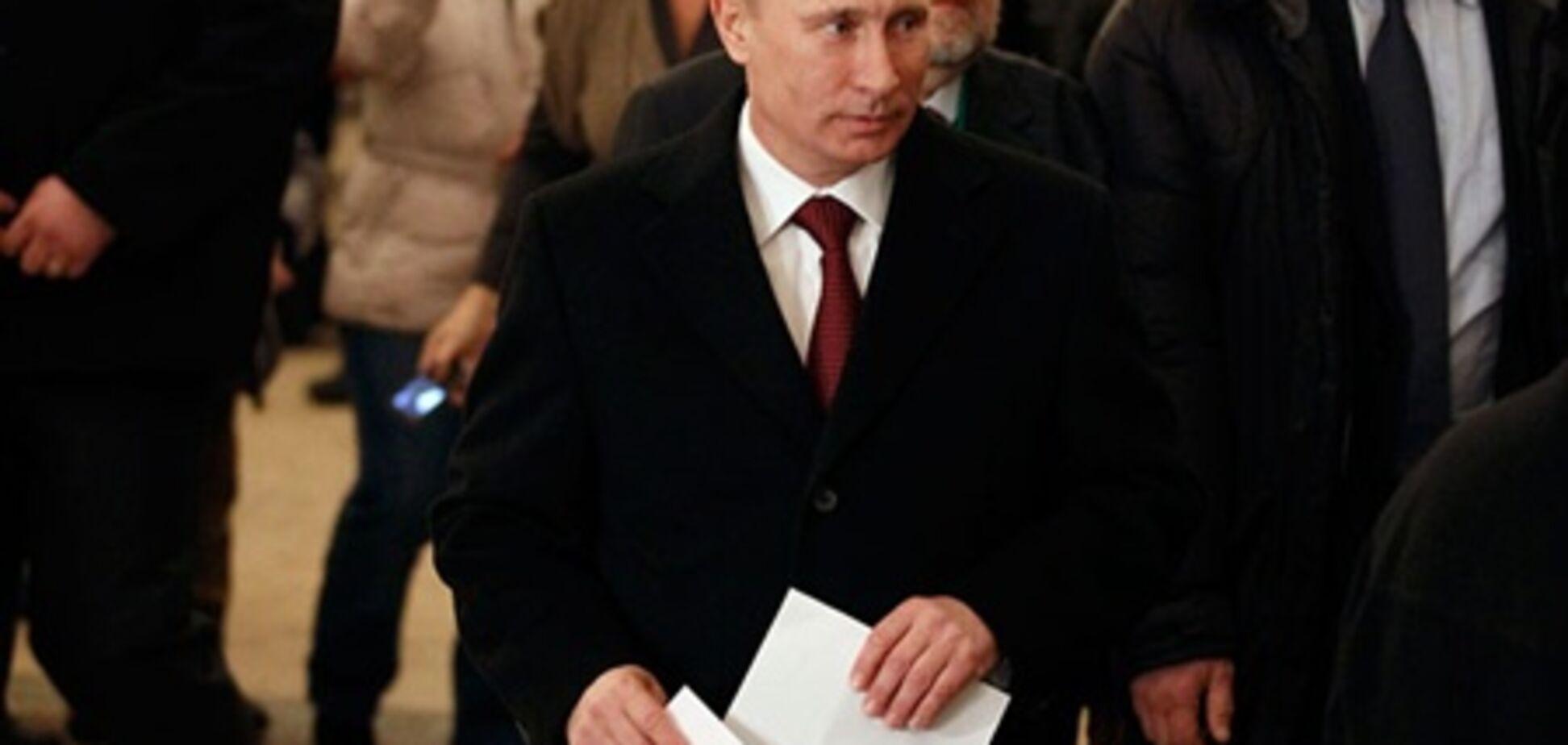 ЦВК обробила 100% протоколів: Путін виграв вибори з 63,6%