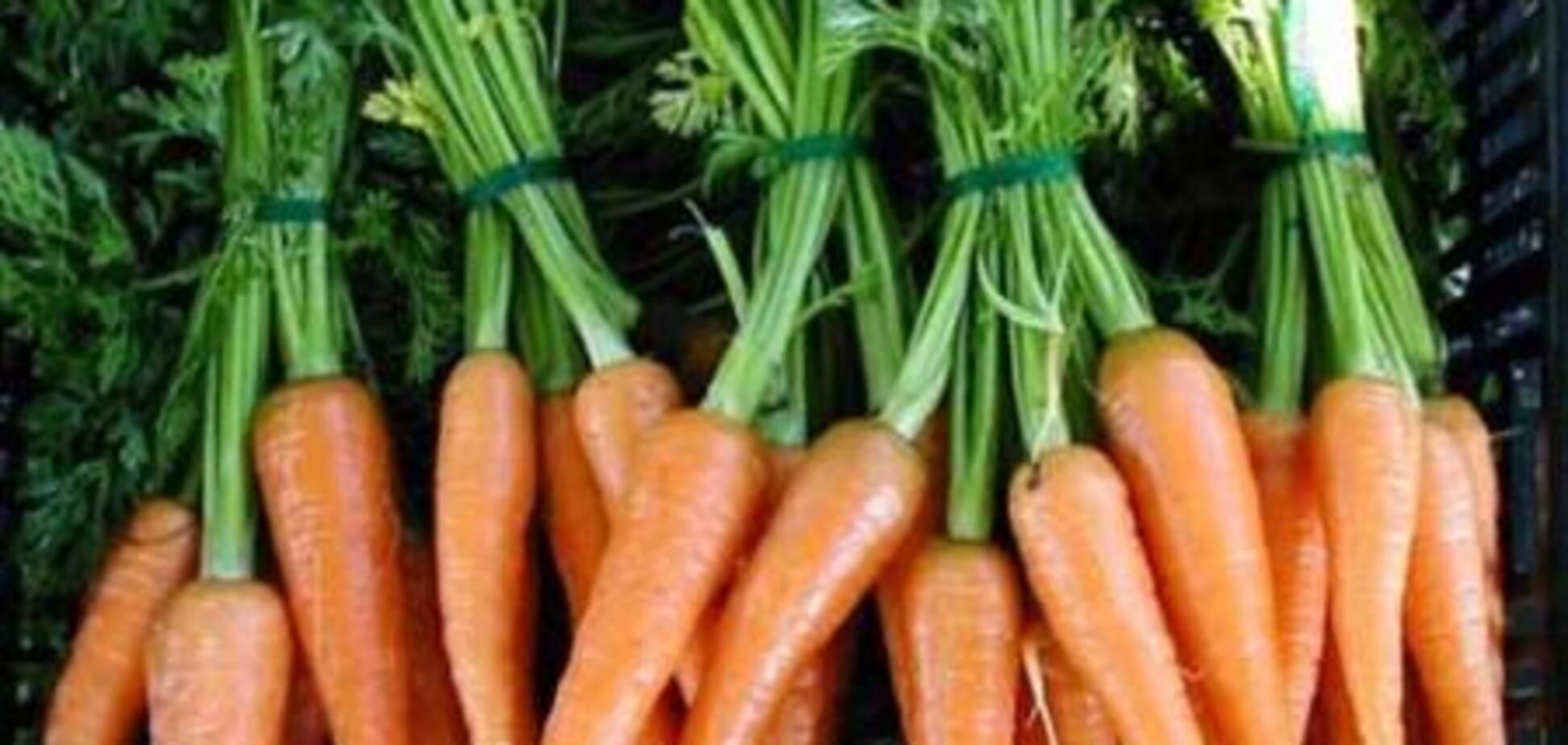 Печенье морковное