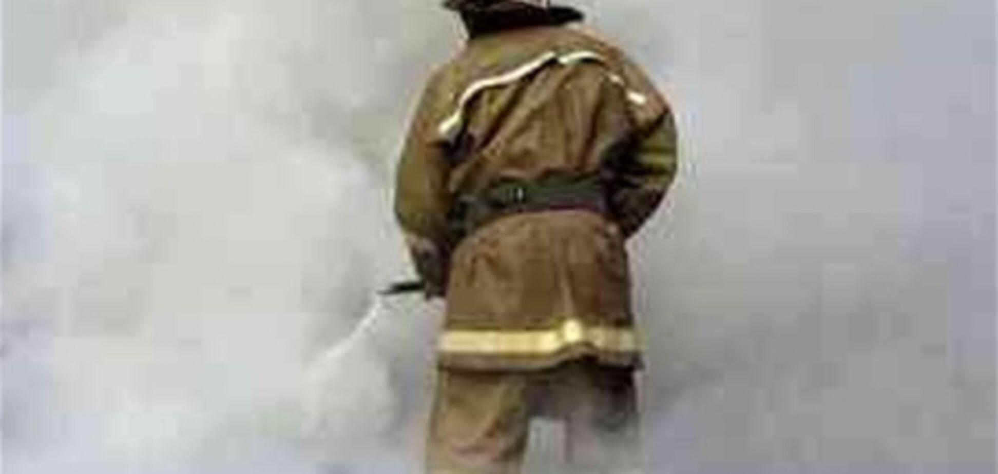 В Винницкой области горел пивзавод