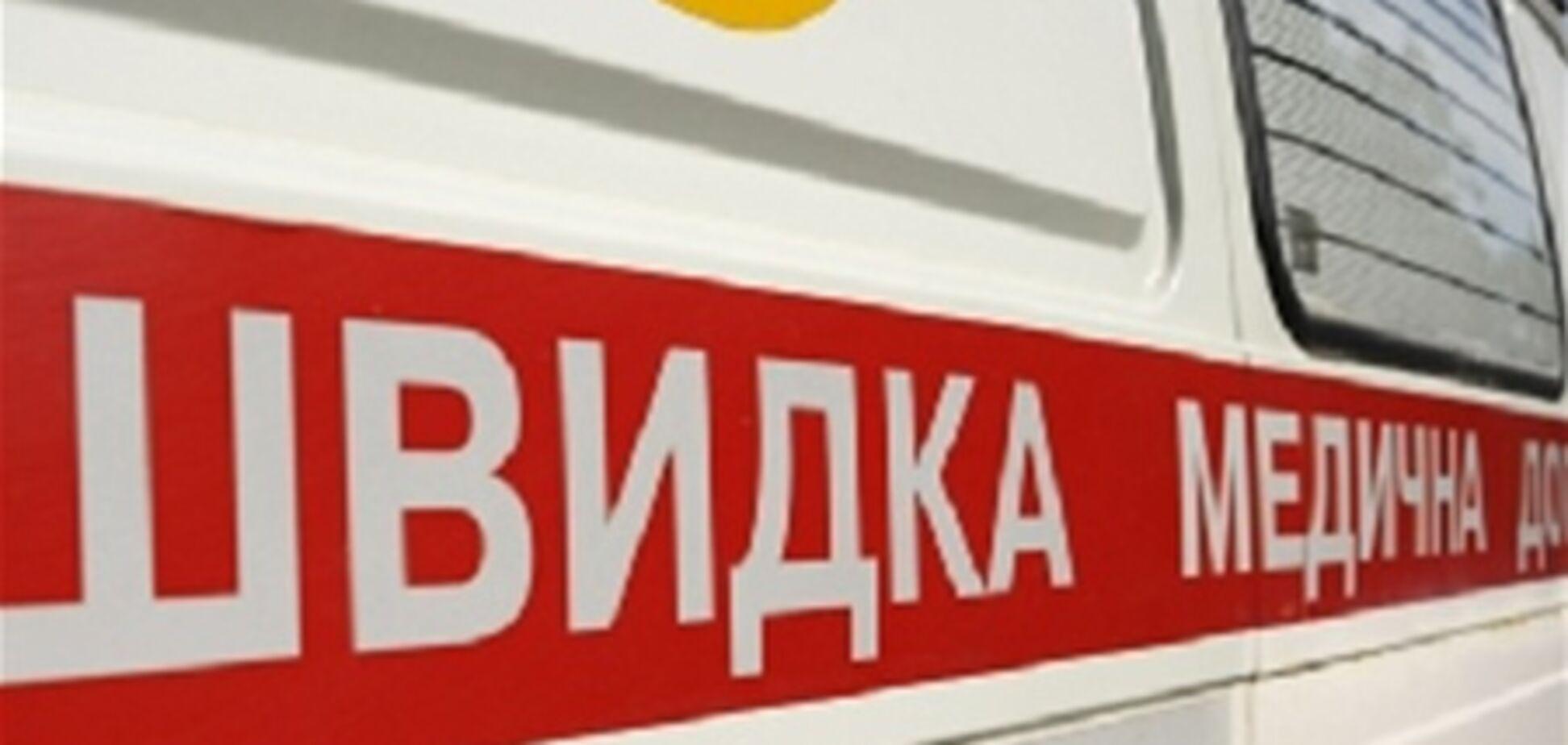 На Львовщине милиционер сбил пенсионера и сбежал