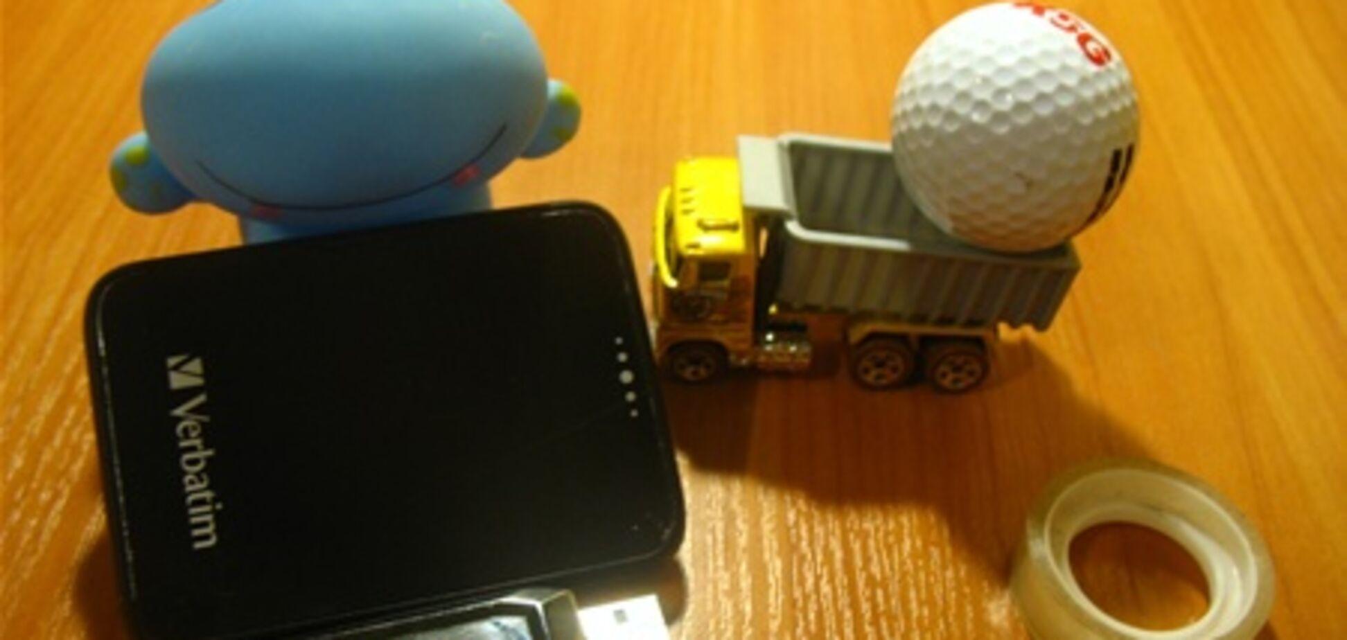 10 флешек в одной: обзор карманного винчестера Verbatim Pocket Drive