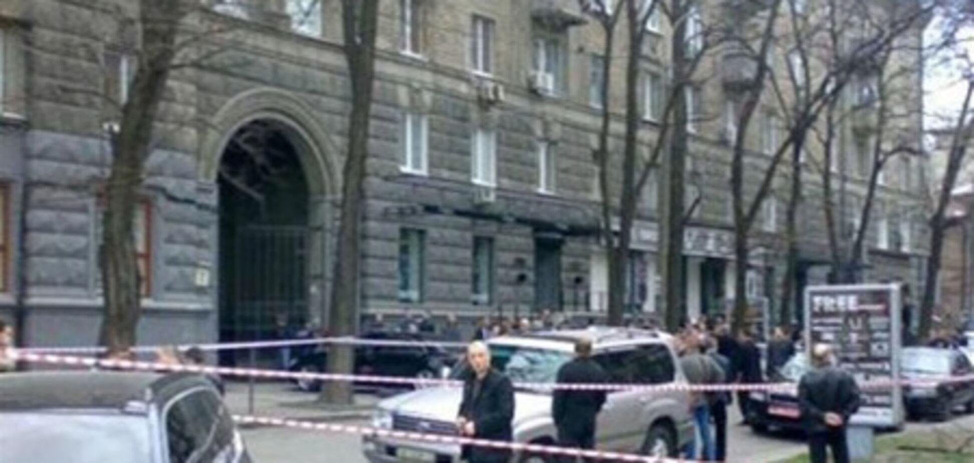 Убийство Аксельрода: видео с места событий