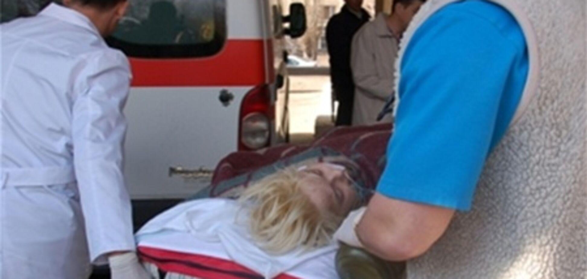 Оксана Макар була підключена до справного обладнанню - медики