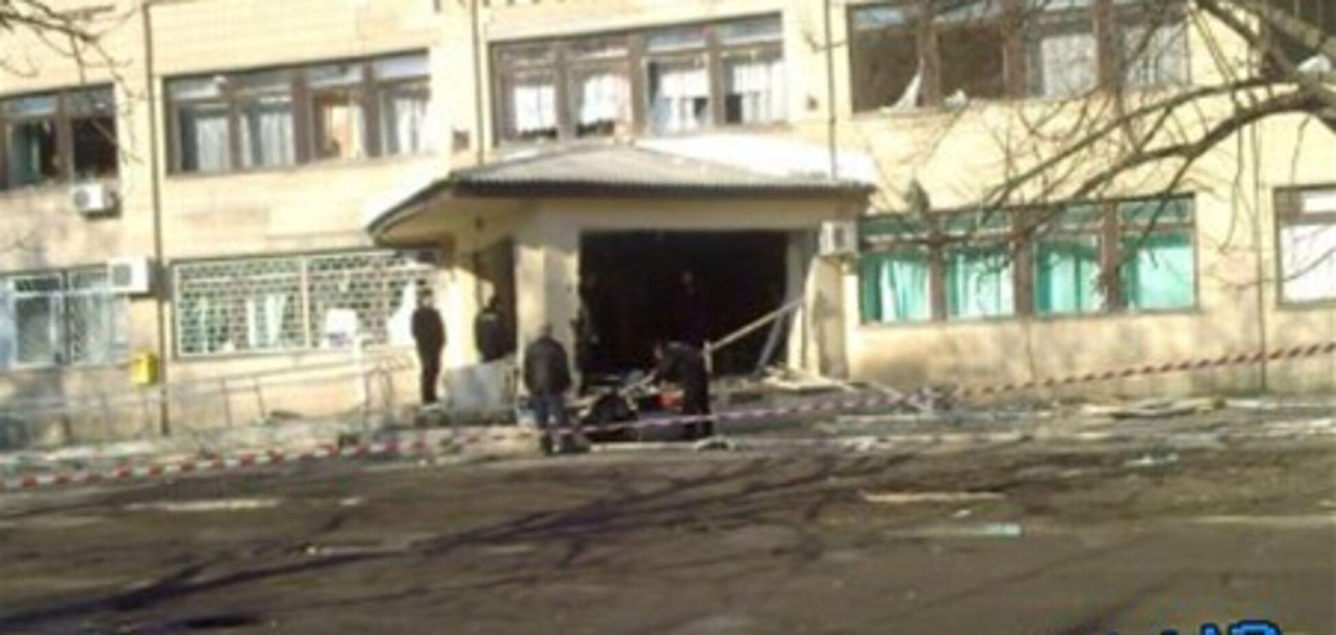 В больнице под Кировоградом произошел взрыв. Фото