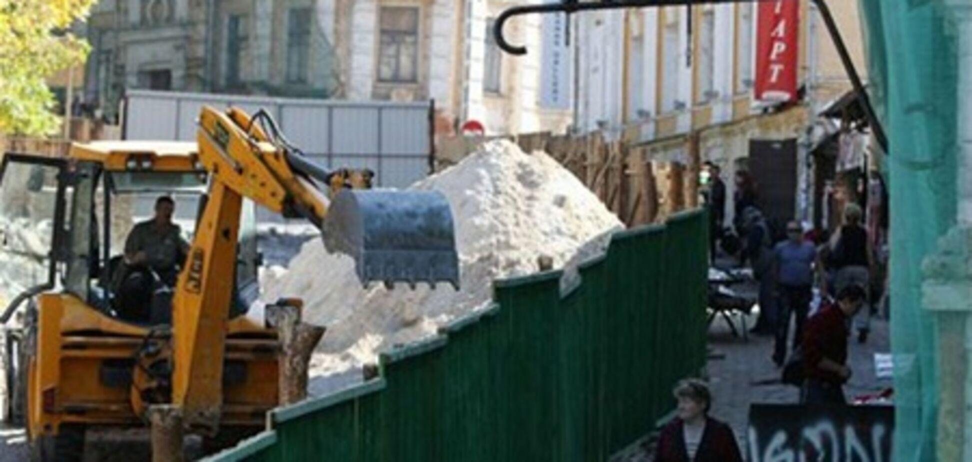 Прокуратура проверяет законность сноса зданий на Андреевском