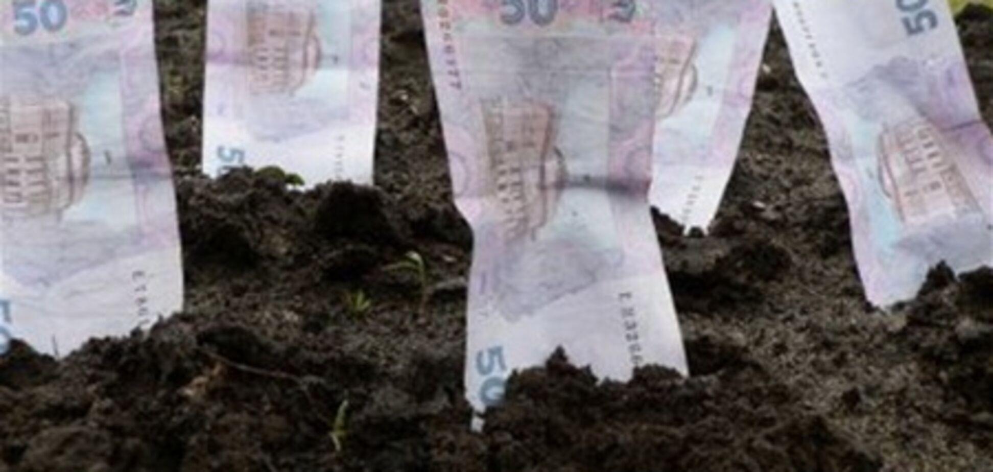 В Украине арендная ставка на землю повысится в два раза