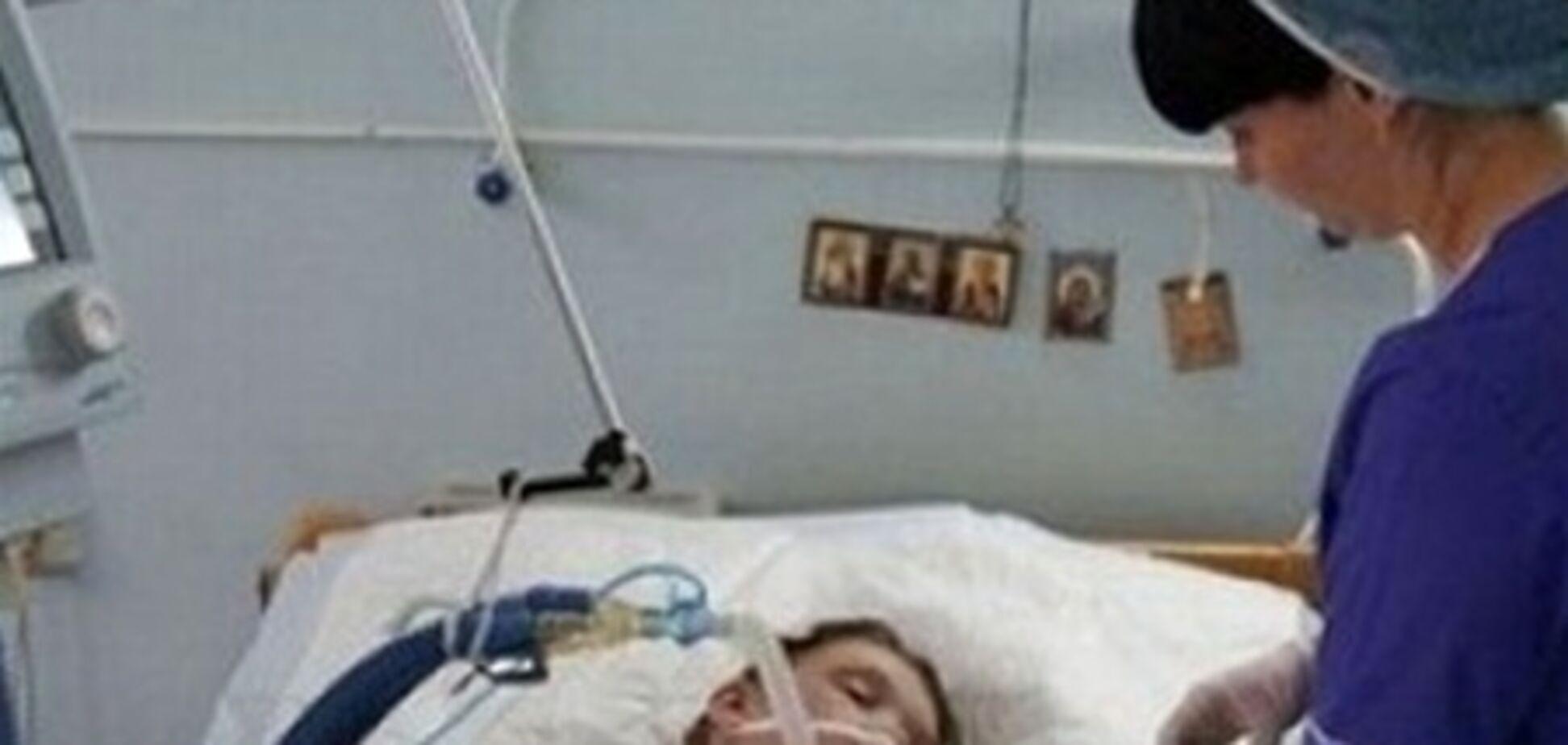 У Саши Поповой появились первые признаки выхода из комы