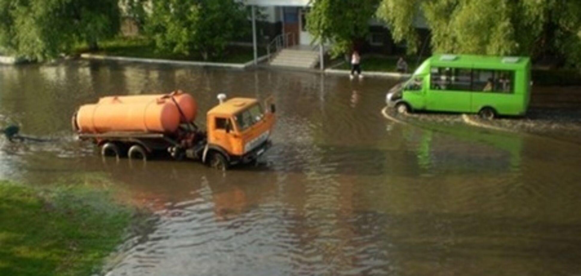 Один из районов Луганска превратился в «Венецию»