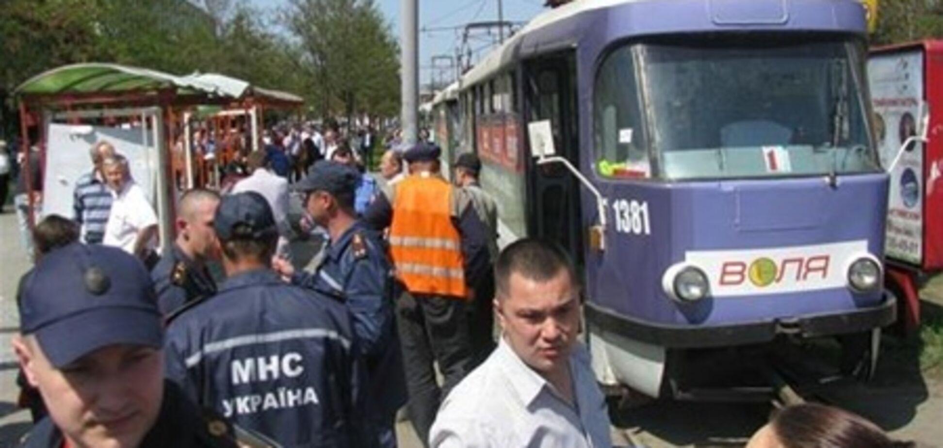 В Днепропетровске полностью восстановлено движение транспорта