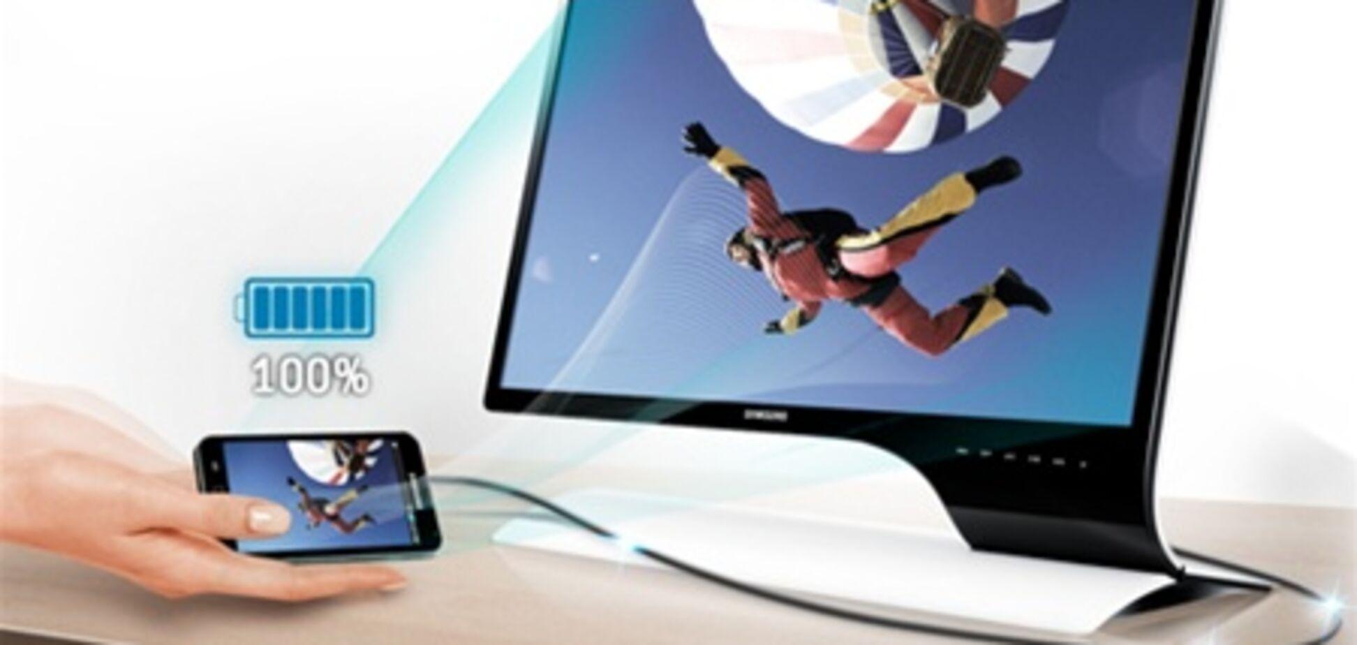 Samsung выпустил монитор для подключения к смартфонам. Фото