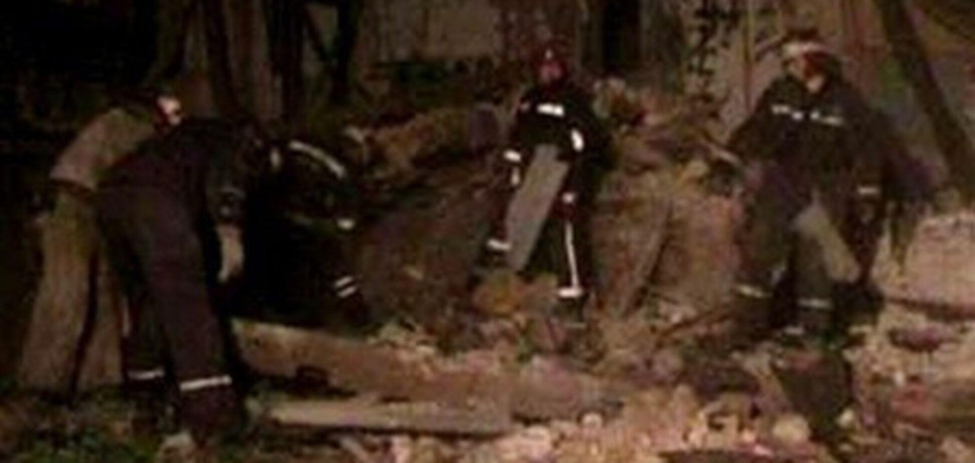 В Харькове рухнул дом. Фото