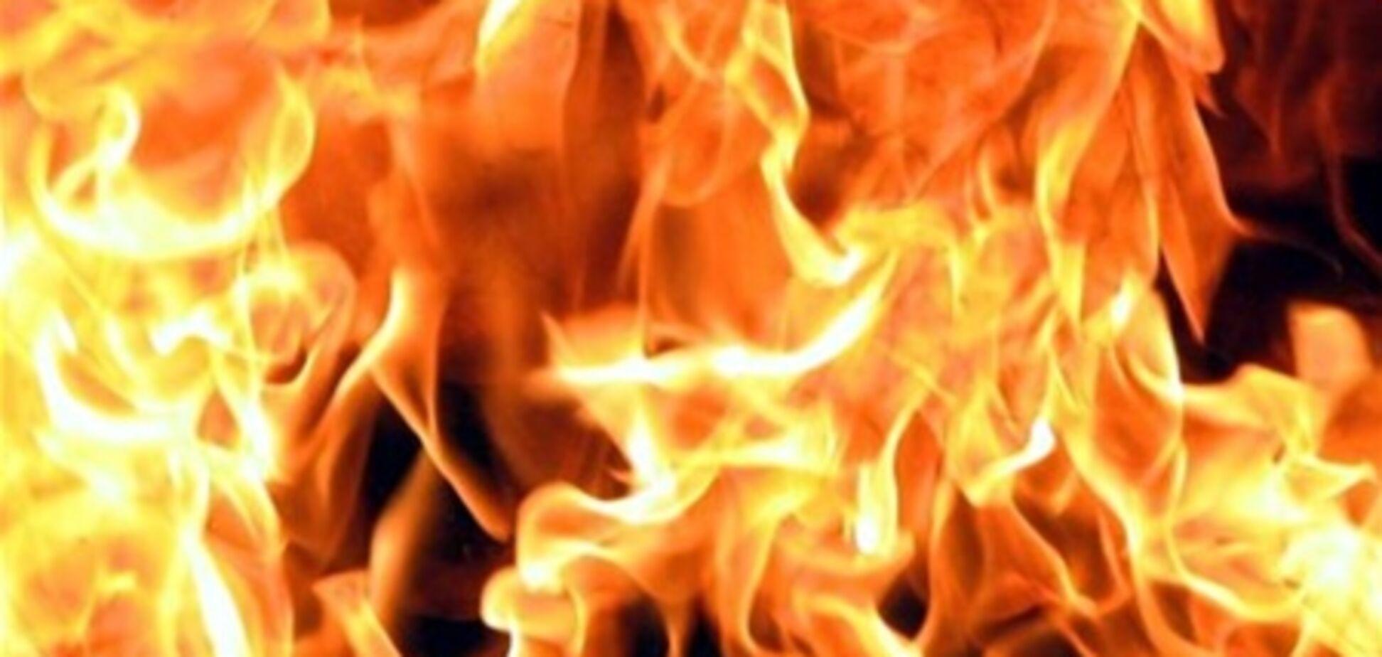На Чернігівщині згорів шкільний автобус