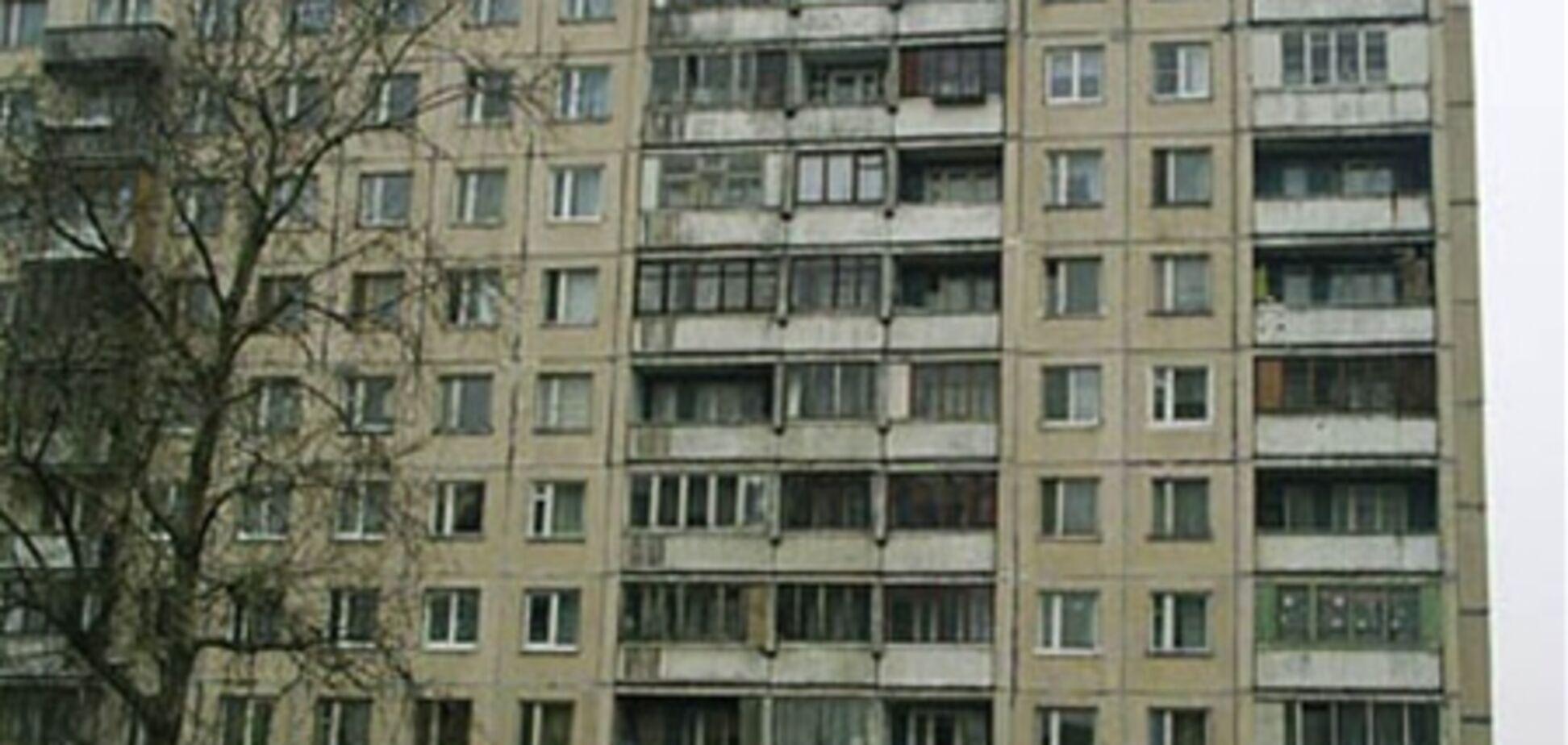 В Харькове из окна восьмого этажа выпал и погиб ребенок