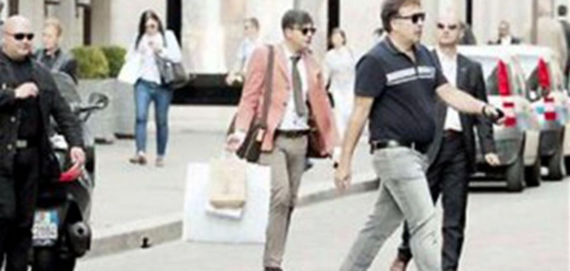 У Саакашвили рассказали, как его занесло в Милан на шоппинг