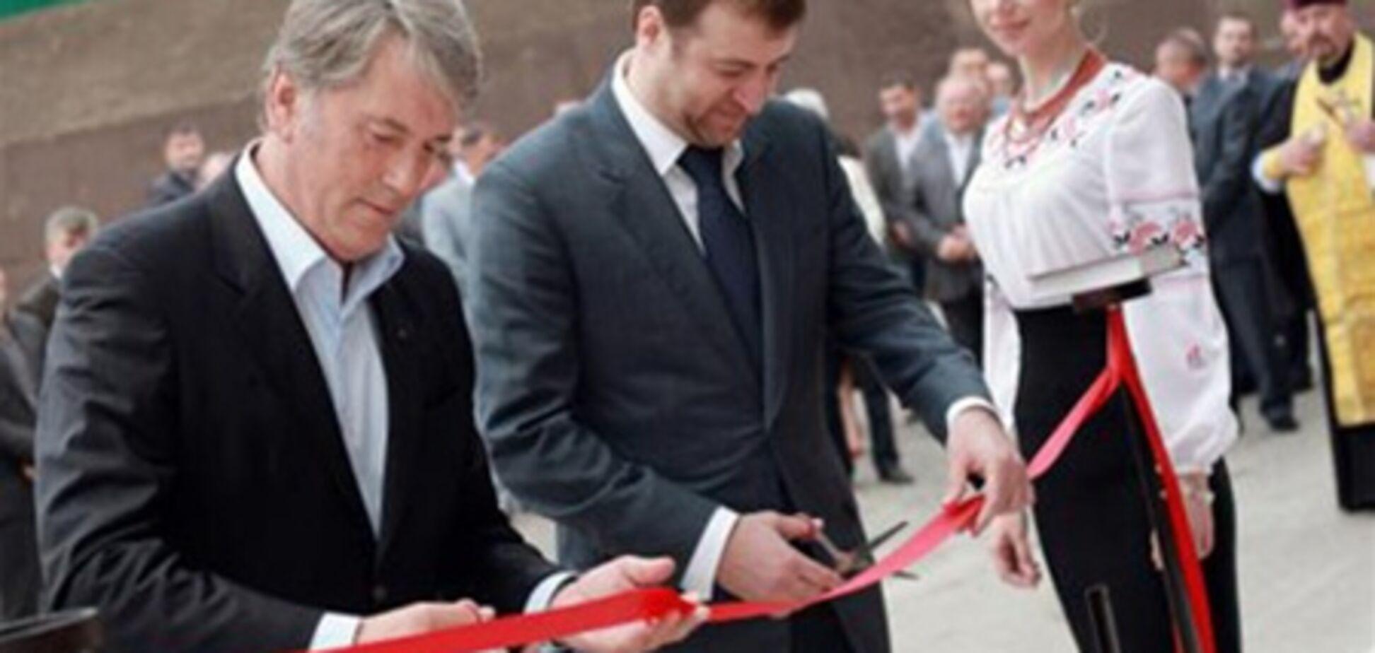 Виктор Ющенко тайно открыл отель