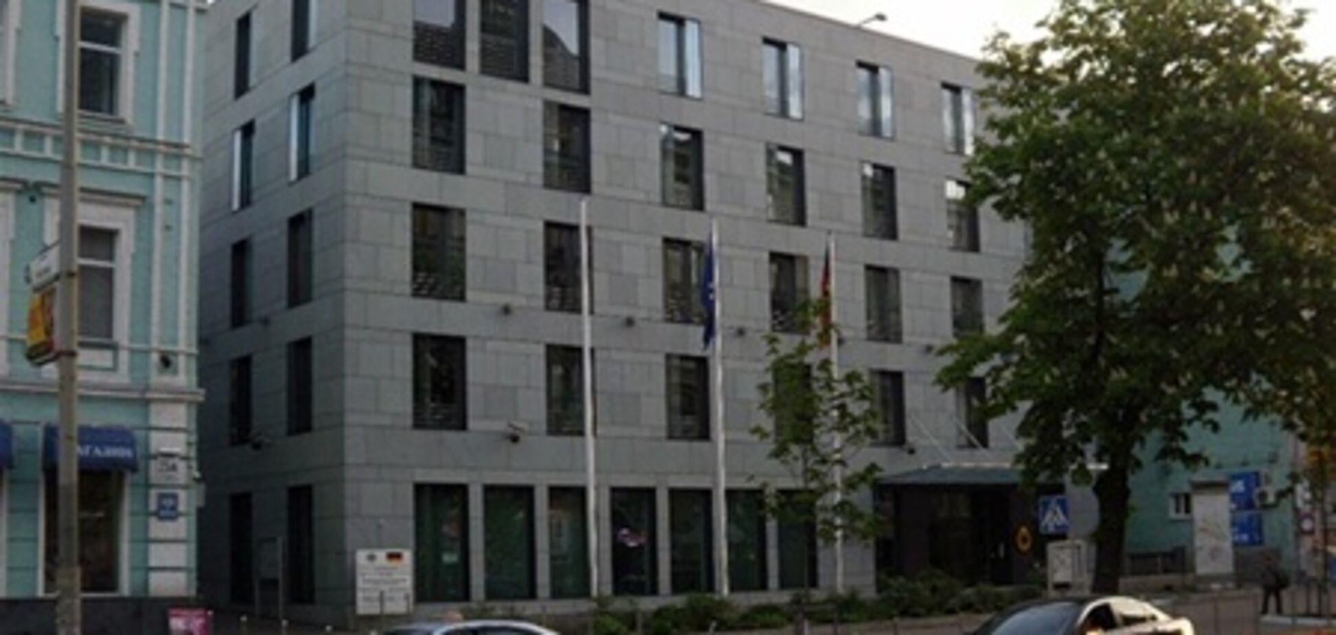 В Киеве заминировали посольство Германии?